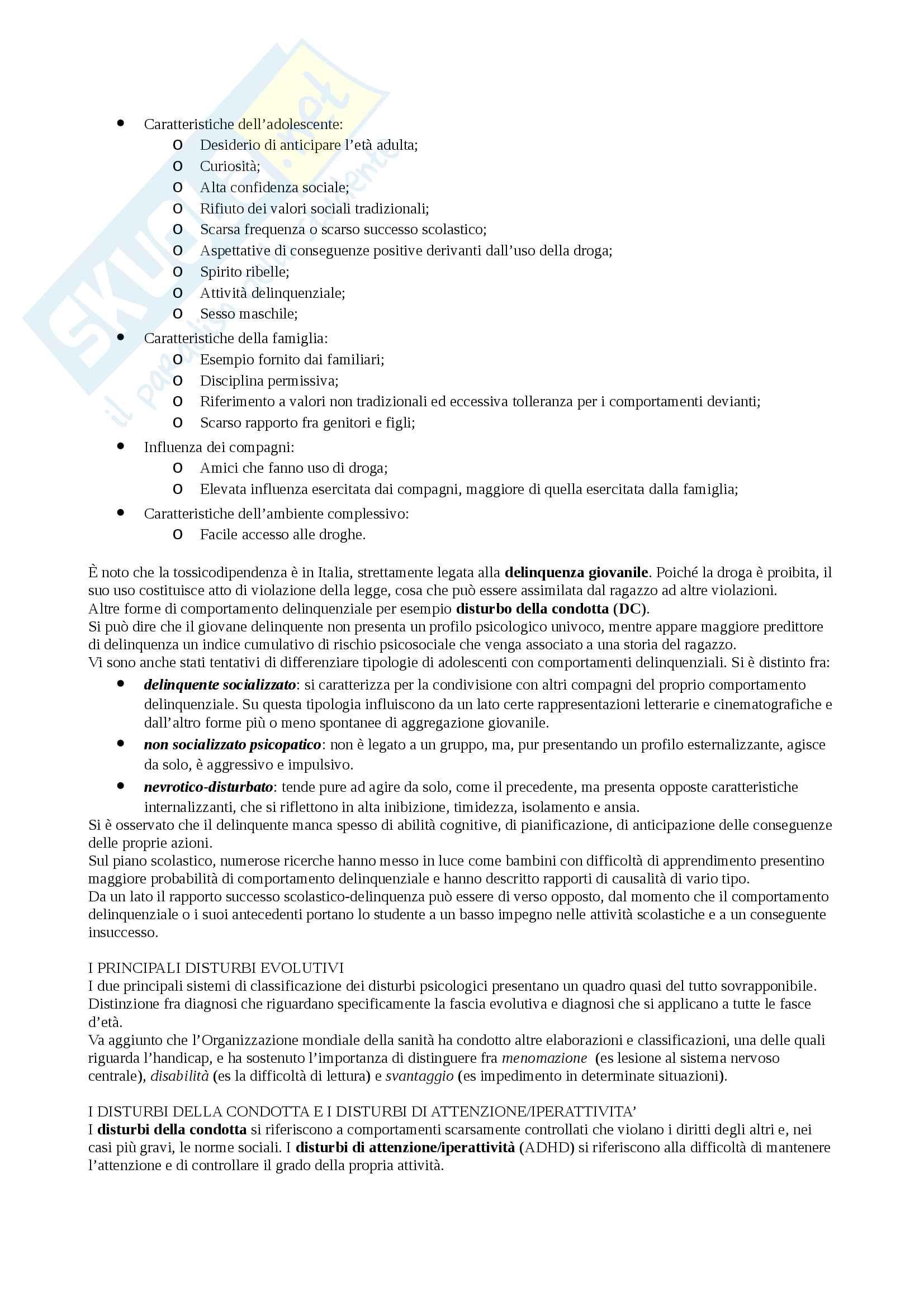 Riassunto esame Psicologia clinica Pag. 16