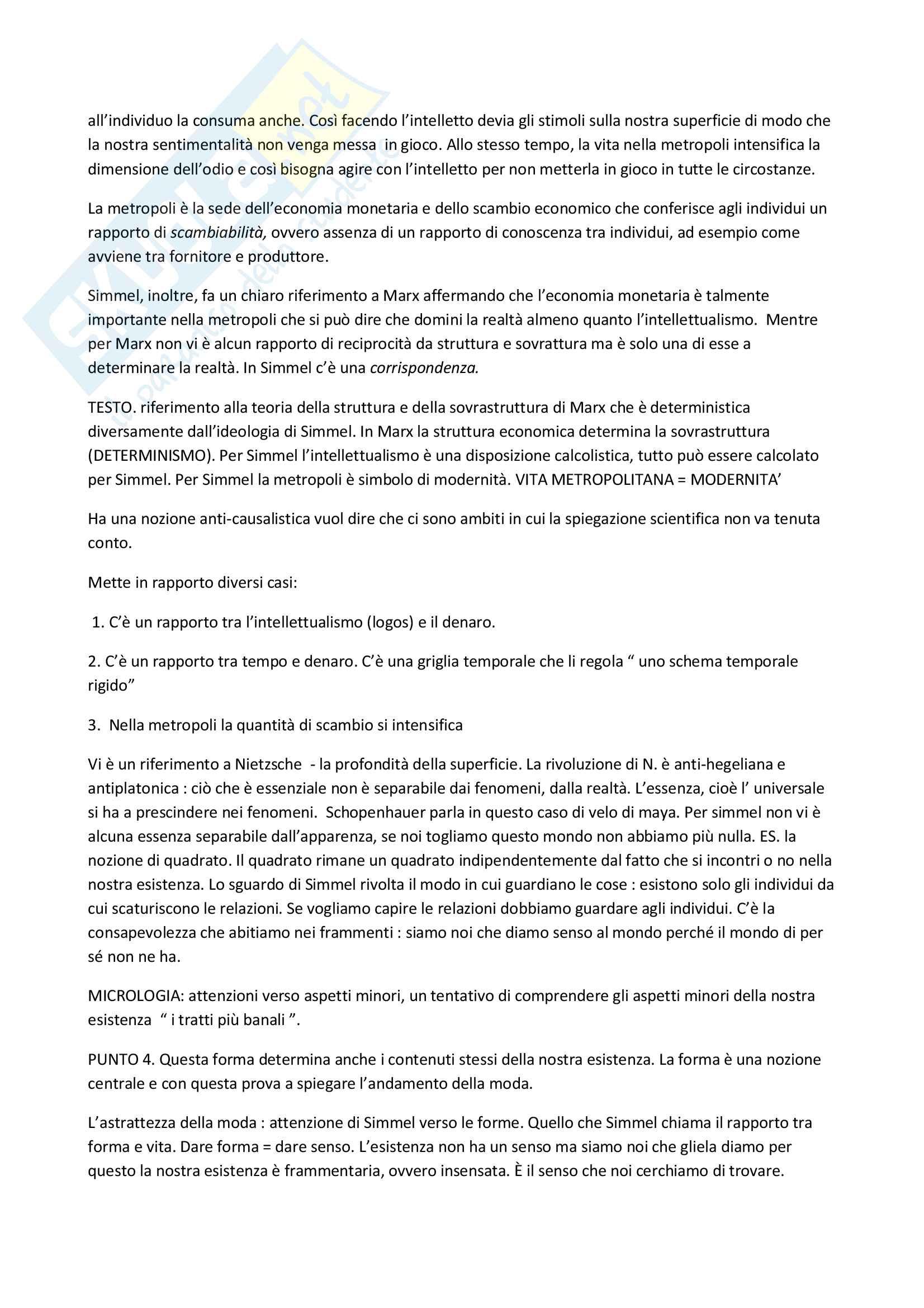 Appunti esame Estetica, Prof. Luca Marchetti Pag. 2