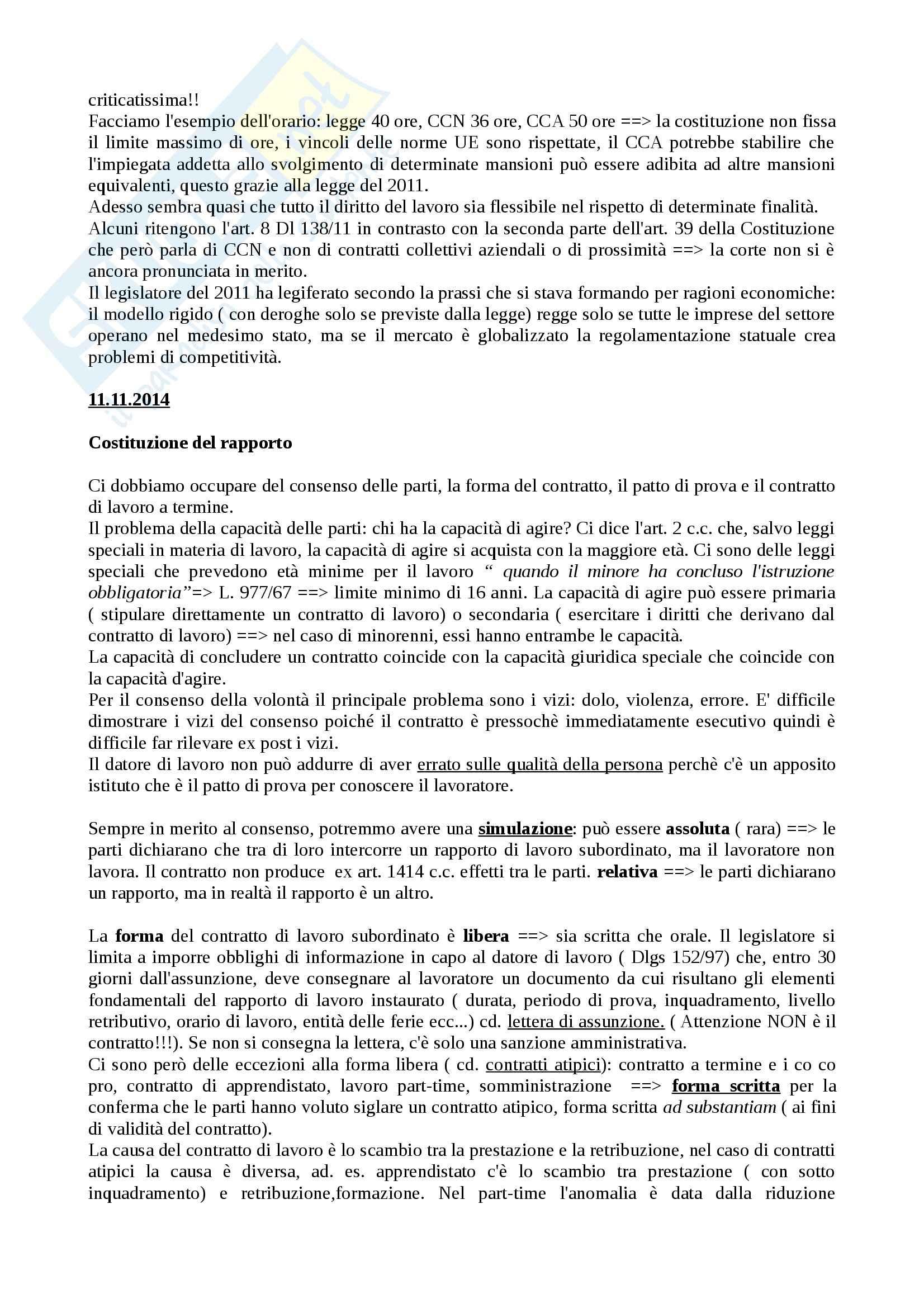 Lezioni diritto del lavoro prof nogler uniti Pag. 36