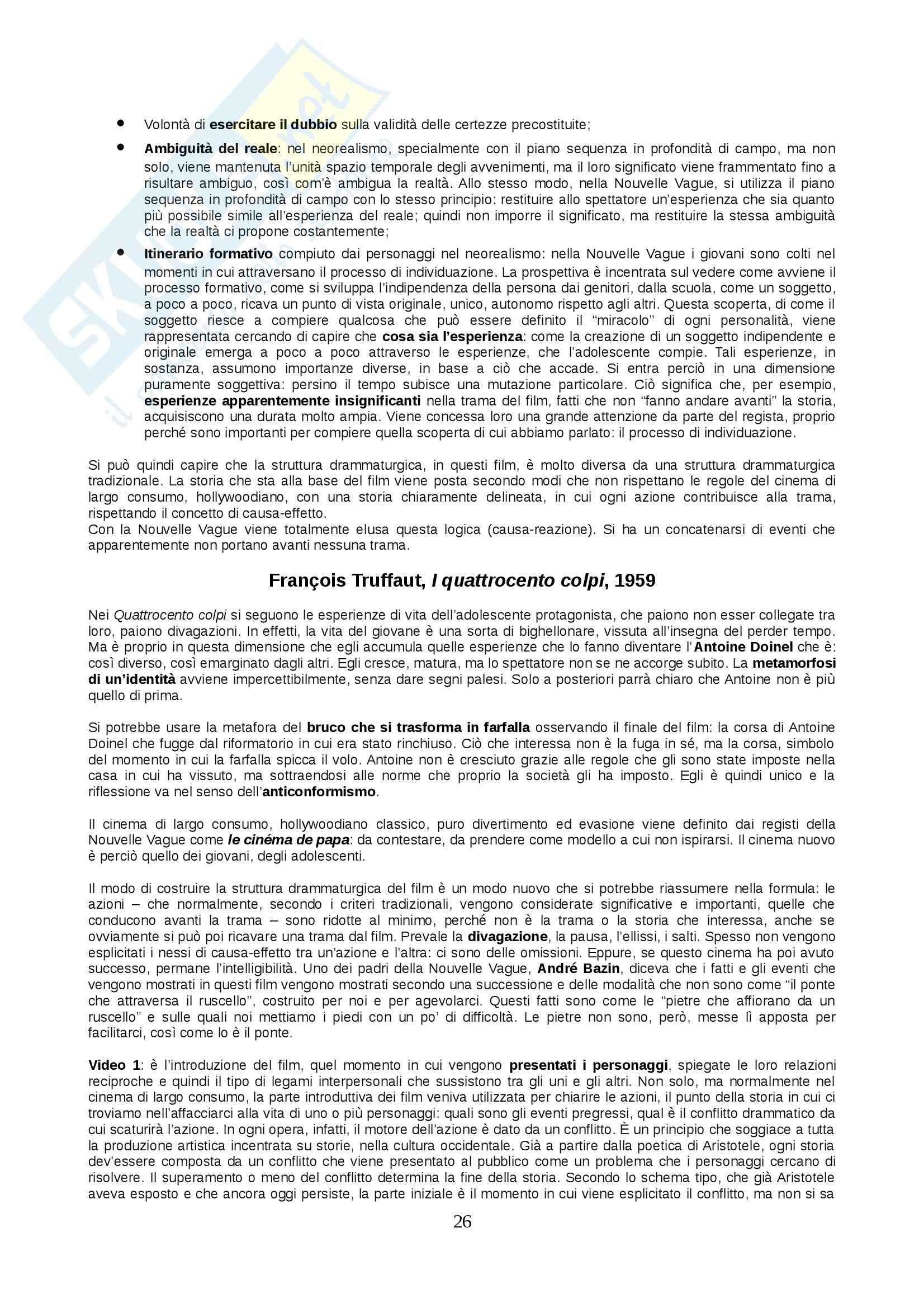 Lezioni, Storia ed estetica del cinema Pag. 26