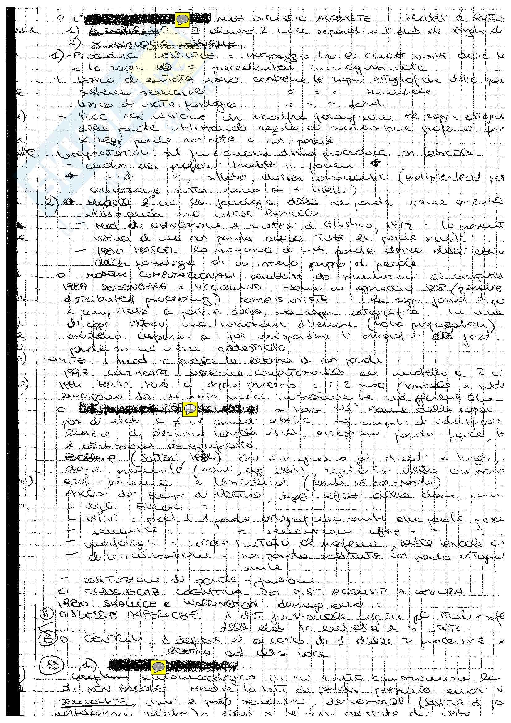 Neuropsicologia - Dislessie e disgrafie acquisite Pag. 2