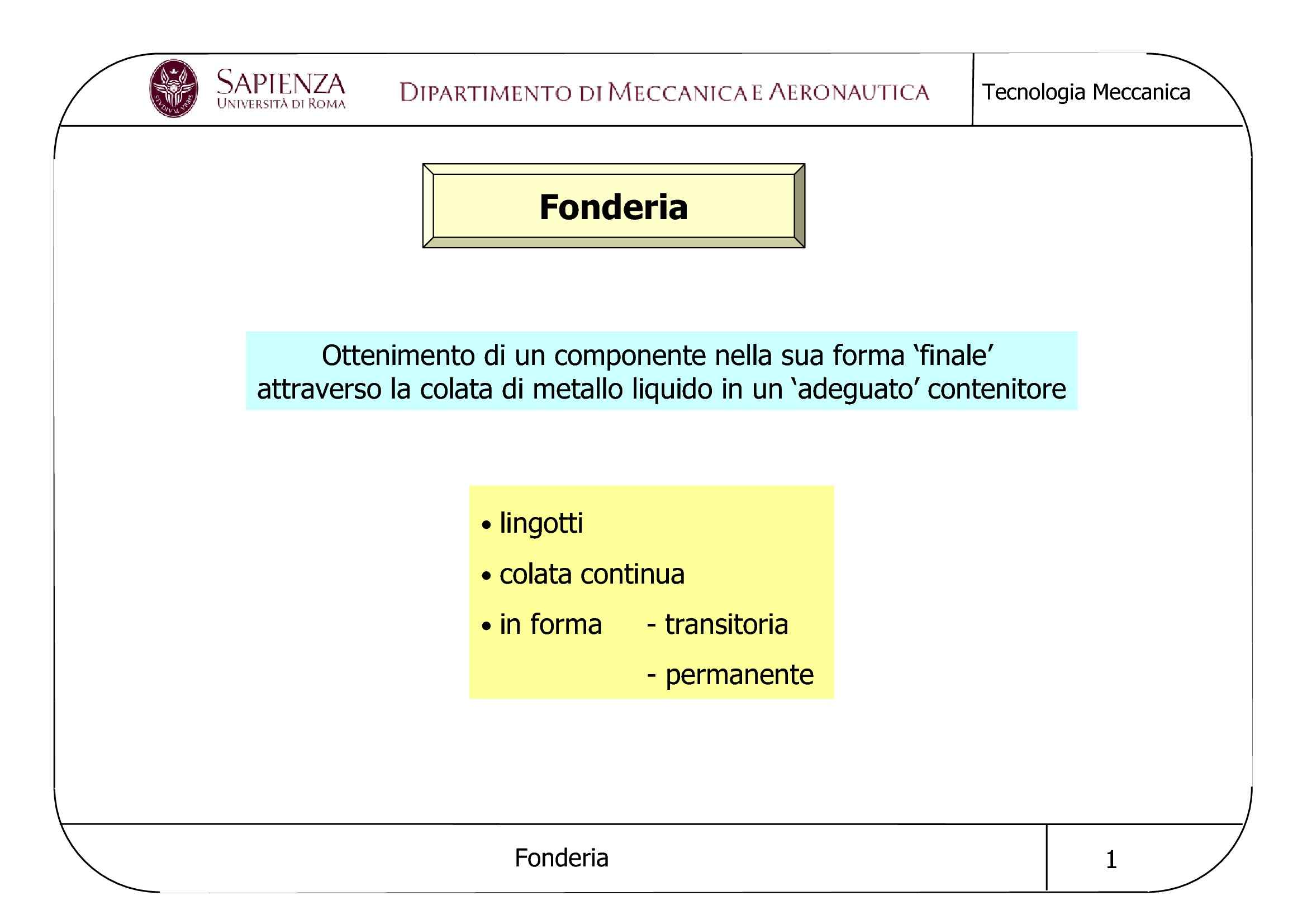 Fonderia