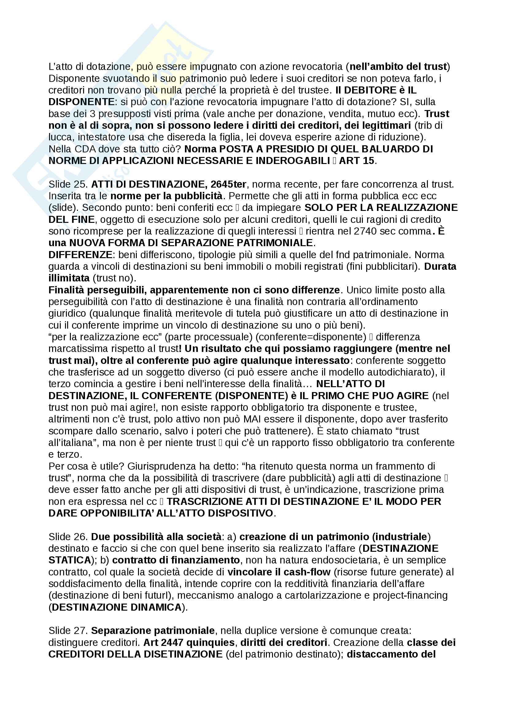 Trust, definizioni e casistiche - Diritto Commerciale Pag. 31