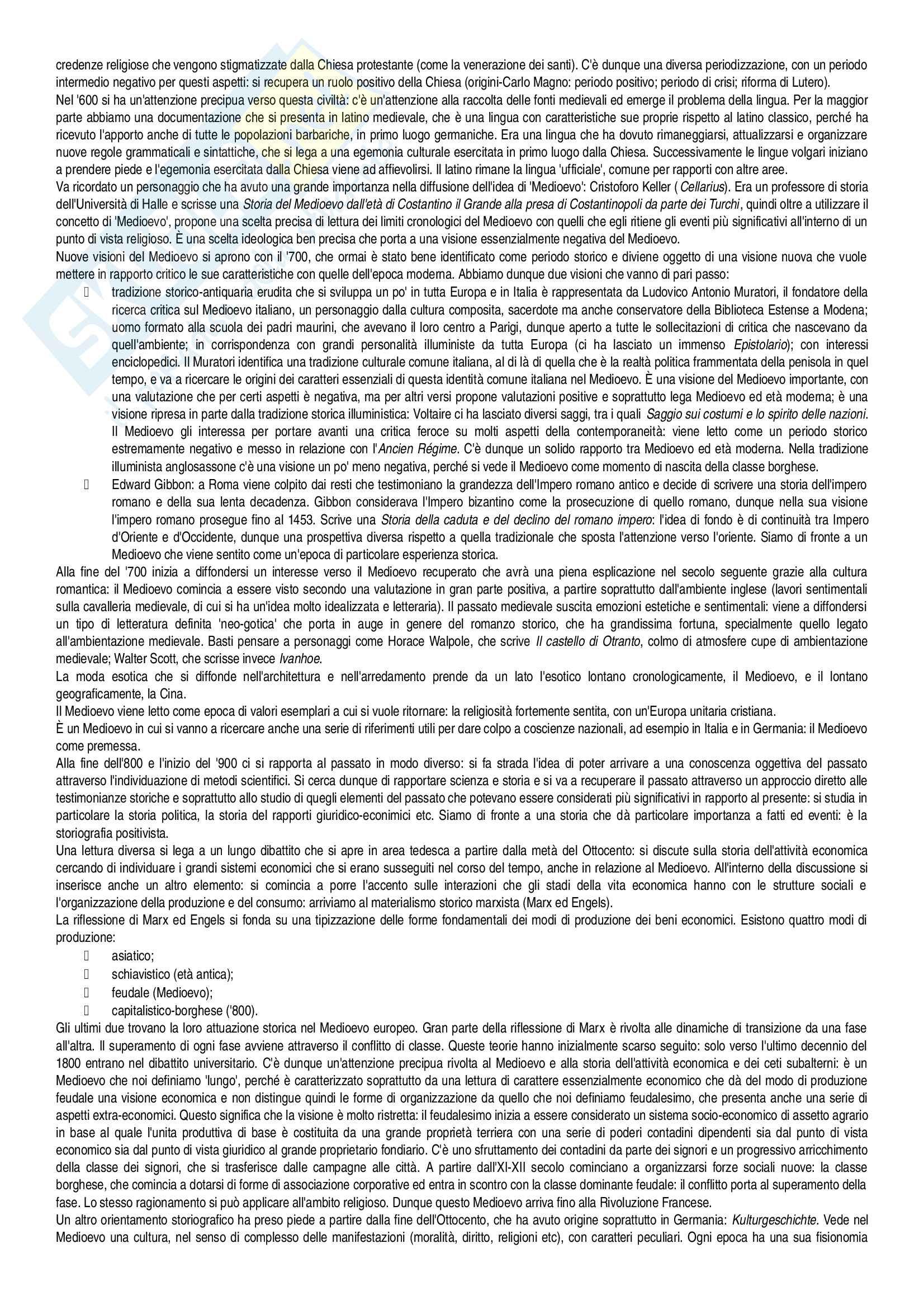 Appunti Storia medievale Pag. 2