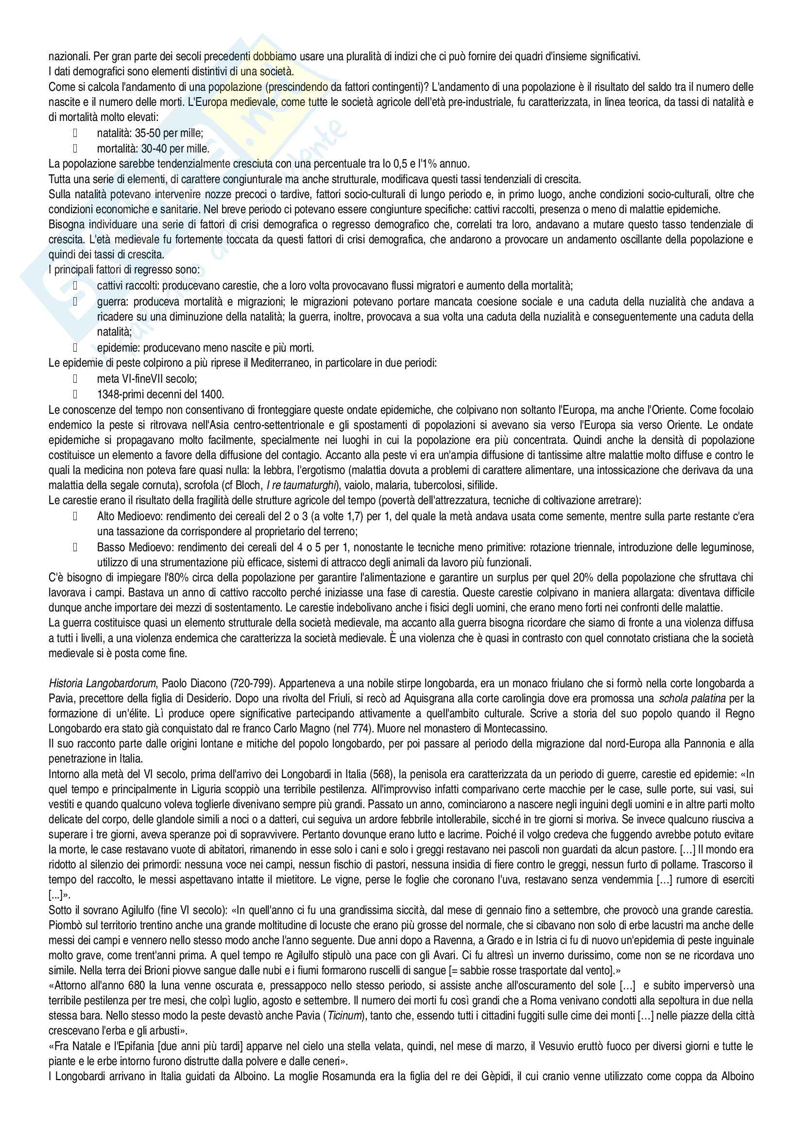 Appunti Storia medievale Pag. 6