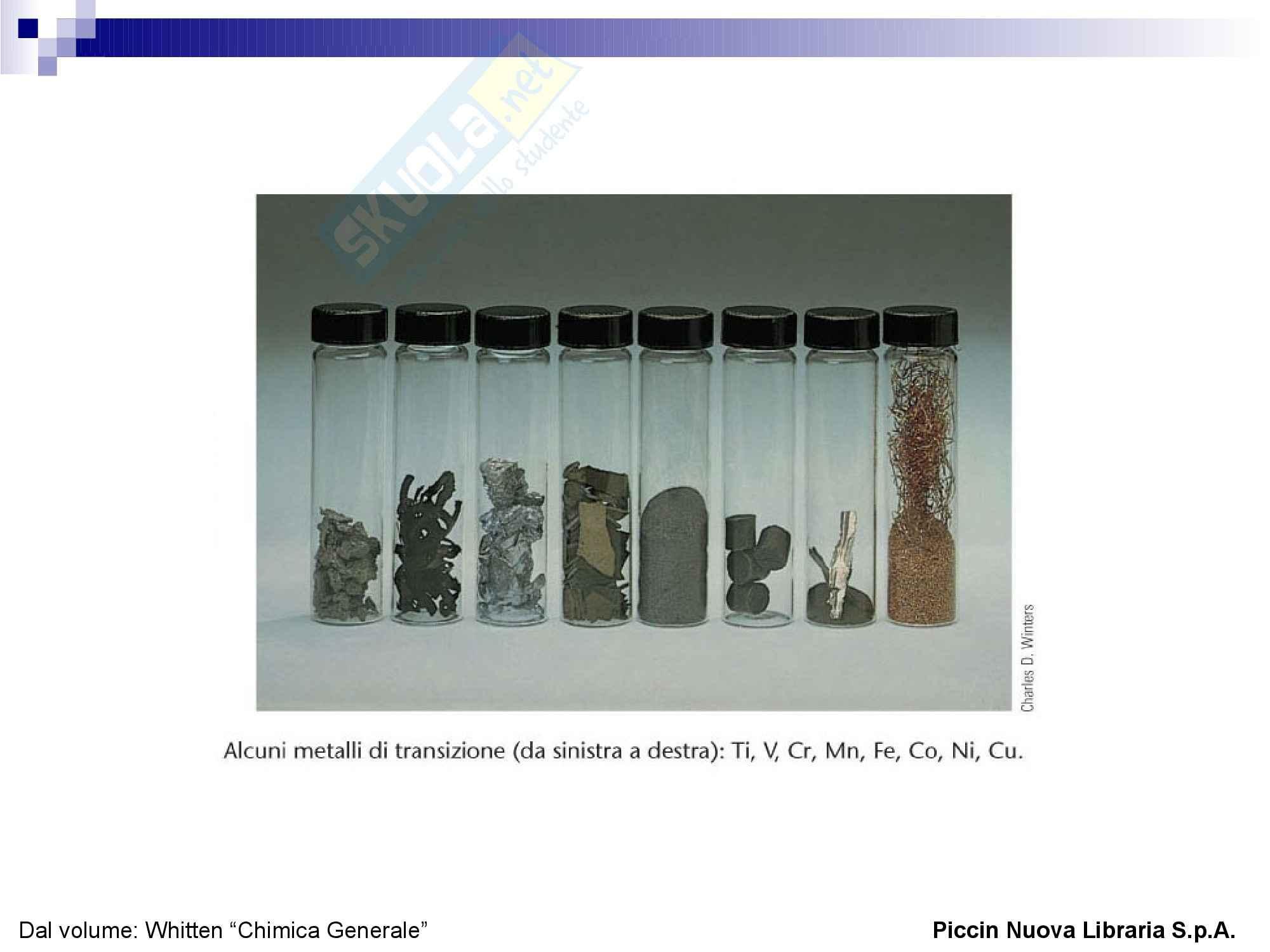 Descrizione della Tavola periodica degli elementi Pag. 6