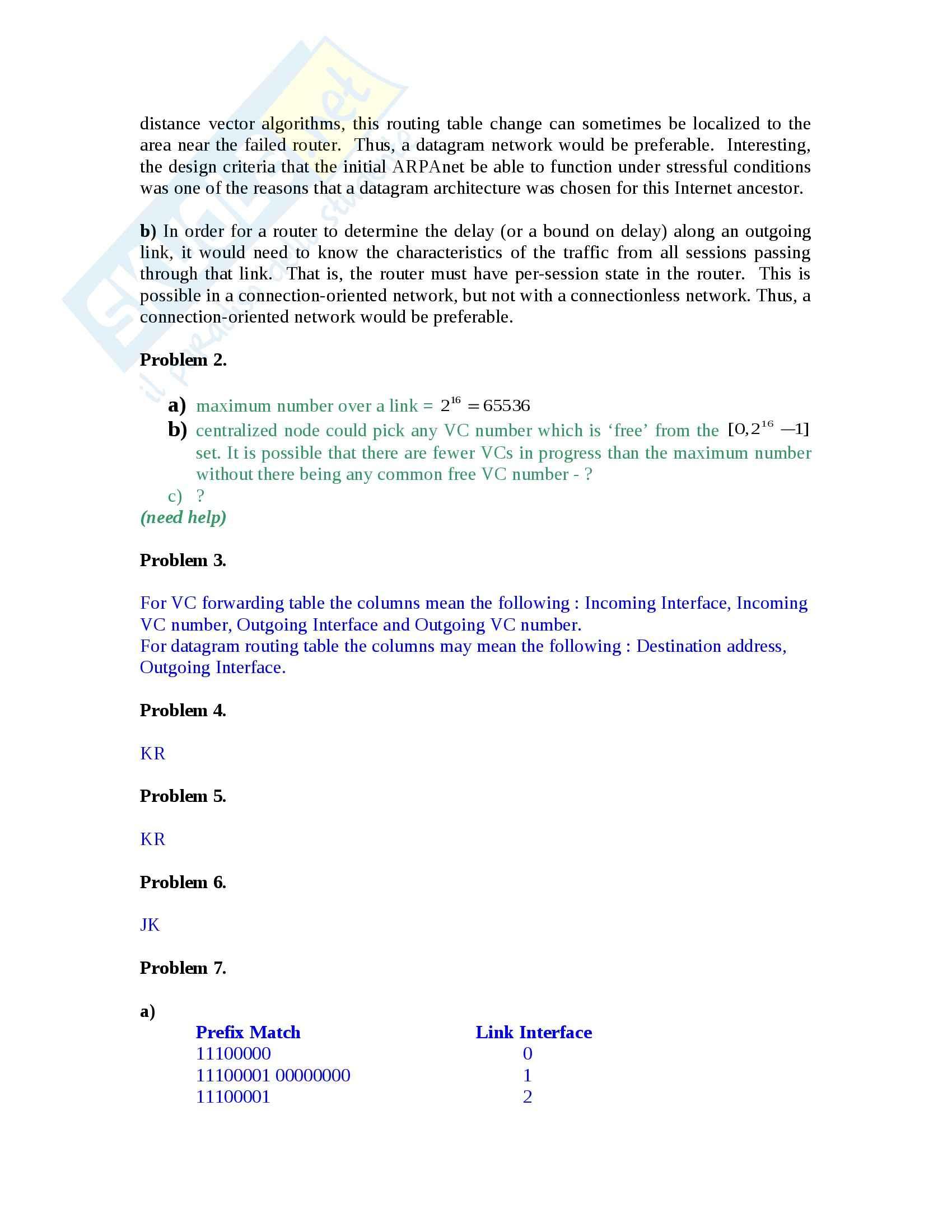 Reti di Calcolatori - Esercizi Pag. 41