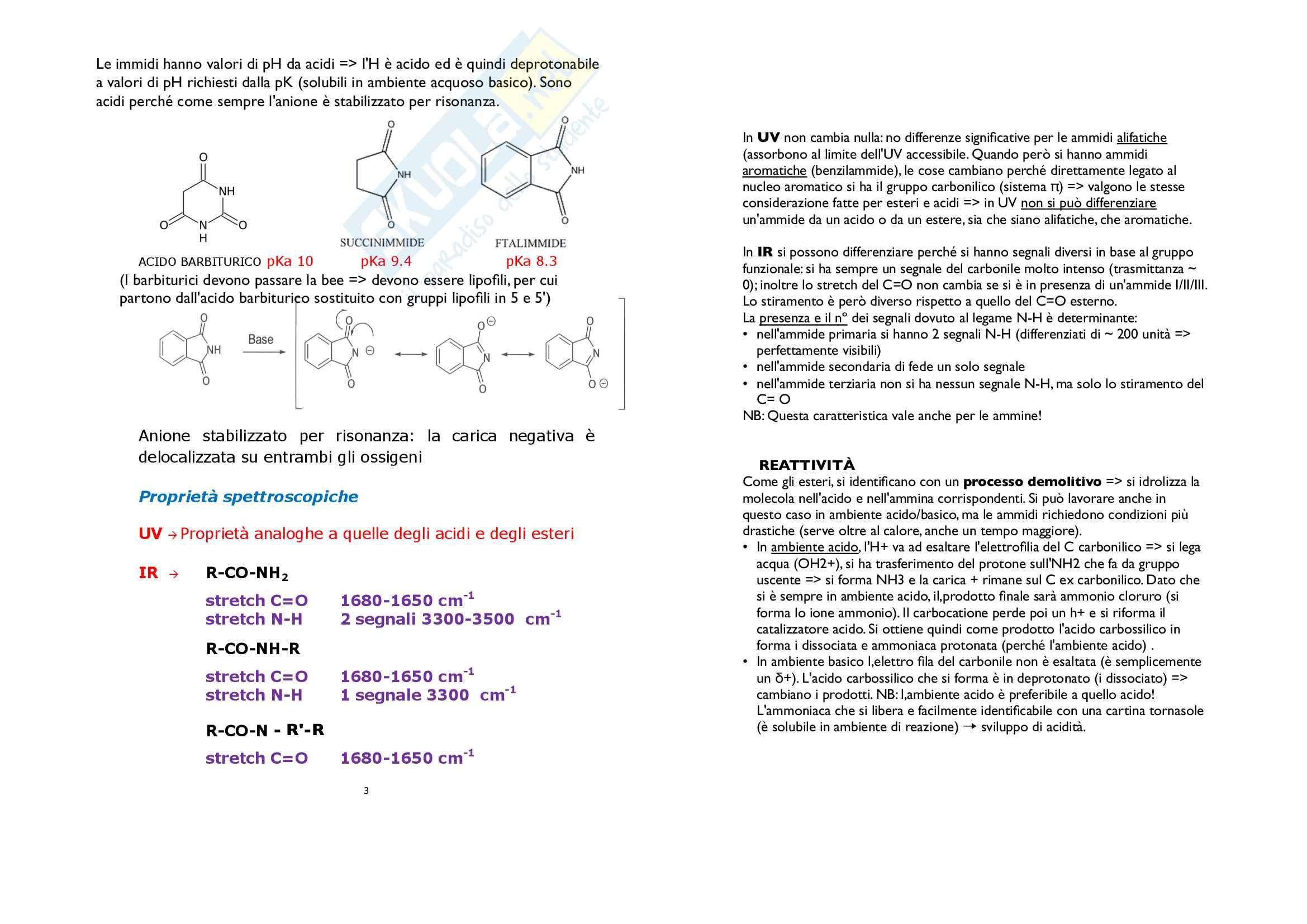 2) Esteri-proteine Pag. 6