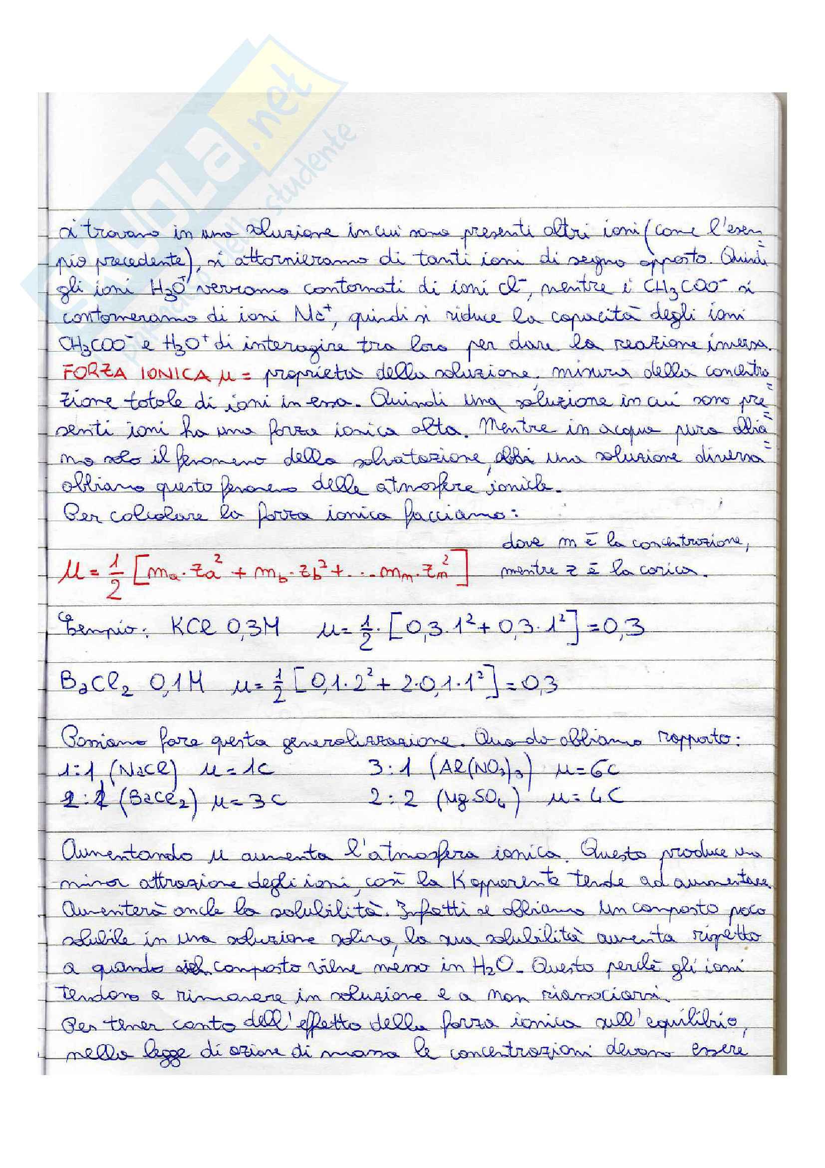 Gli equilibri Pag. 2