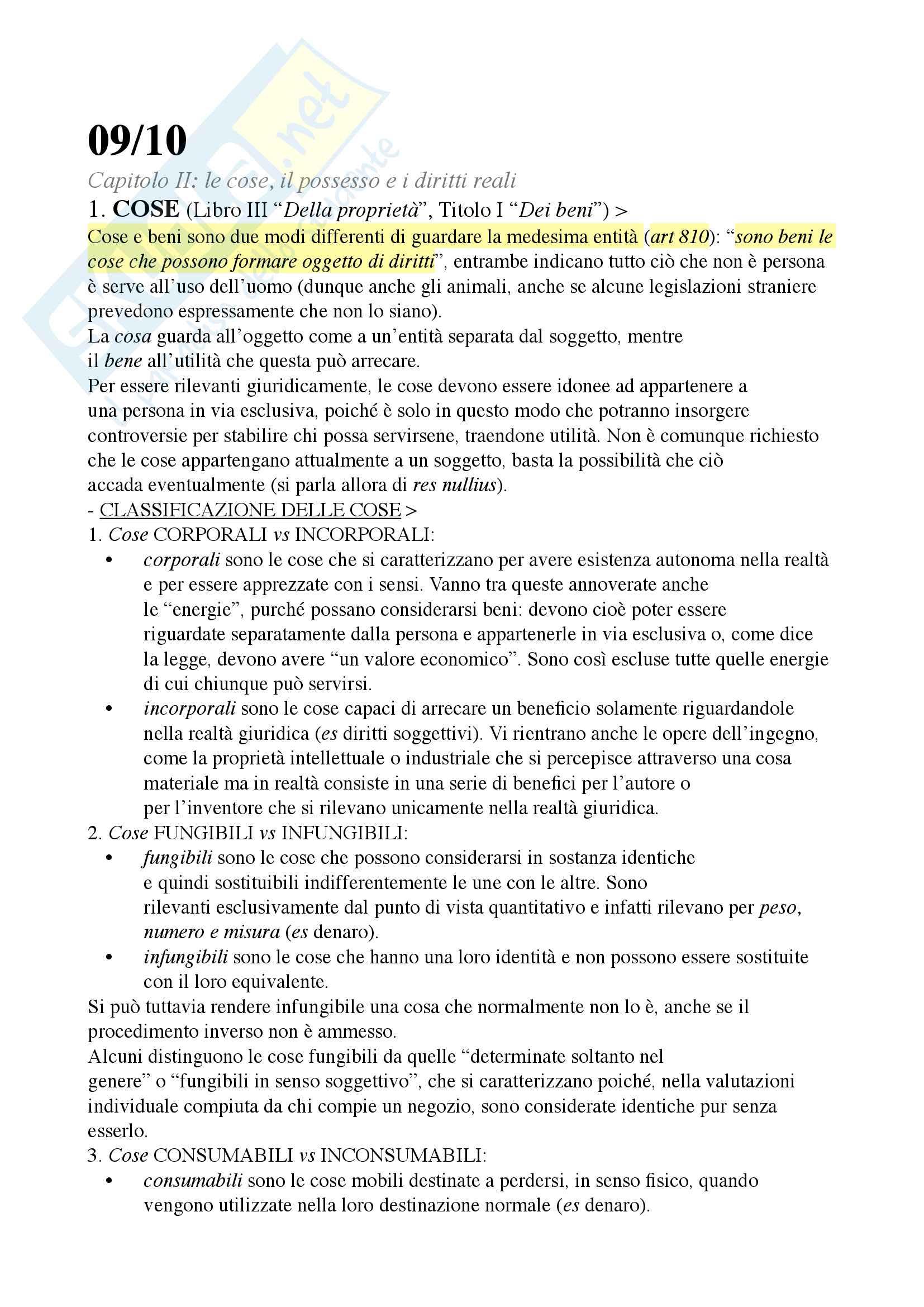 Riassunto esame diritto privato, Docente Ciatti, libro consiglio Diritto privato, Ciatti e Calvo Pag. 16