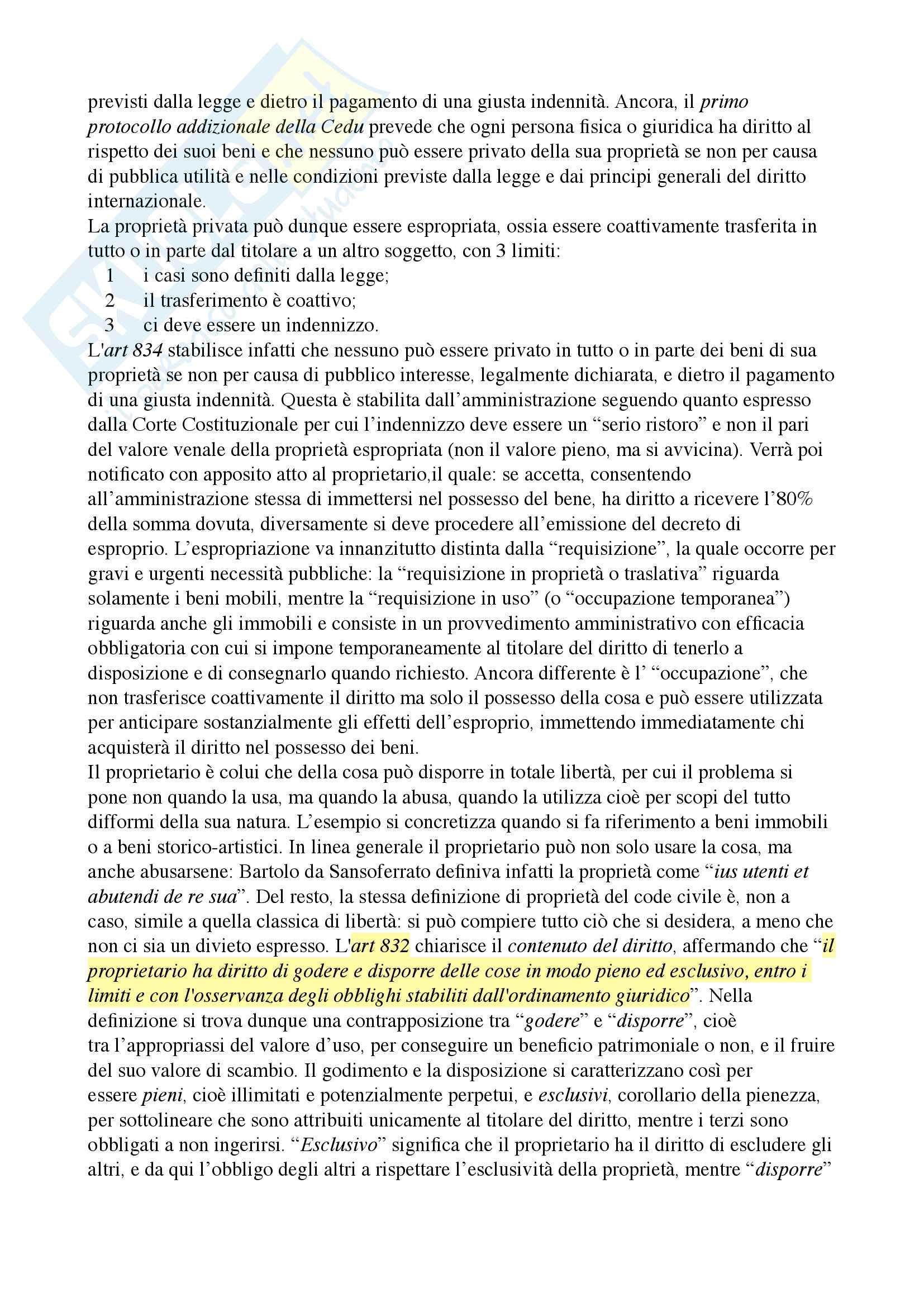 Riassunto esame diritto privato, Docente Ciatti, libro consiglio Diritto privato, Ciatti e Calvo Pag. 26