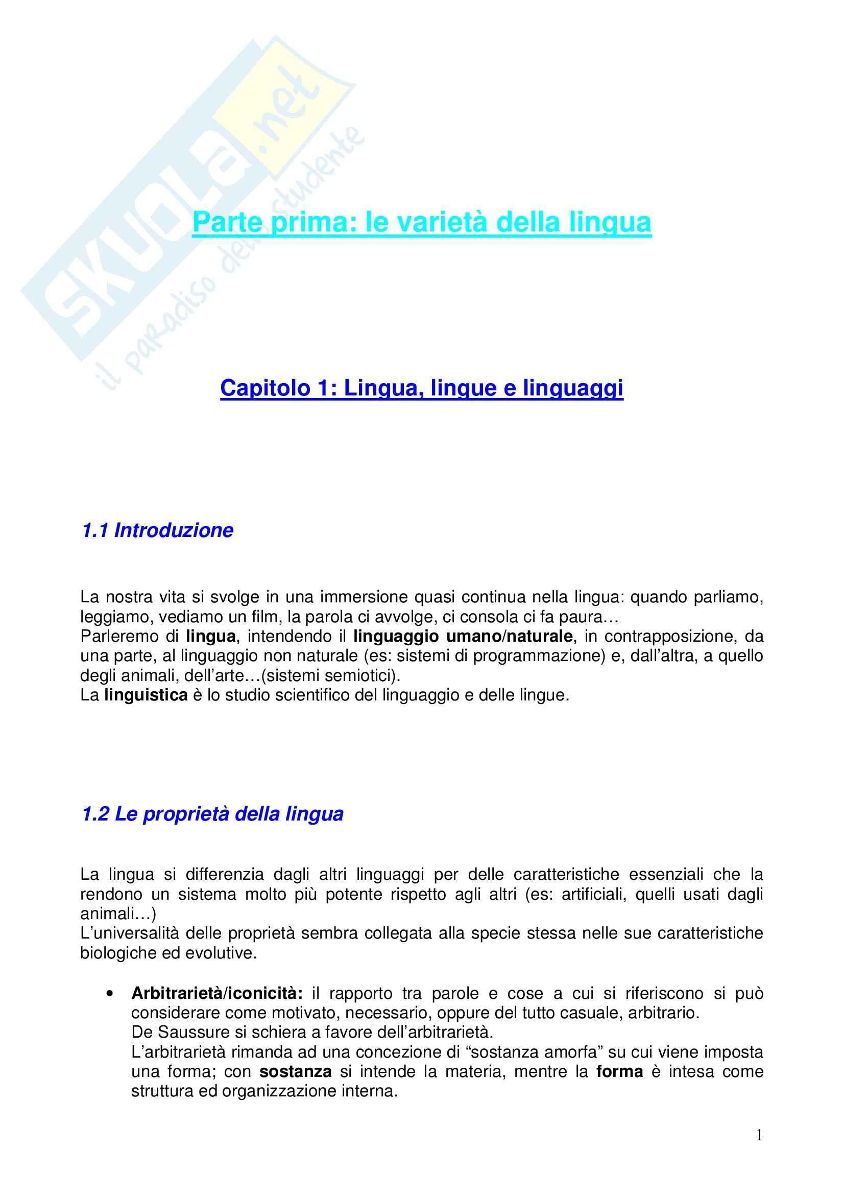 appunto C. Casadio Filosofia e Teoria dei Linguaggi