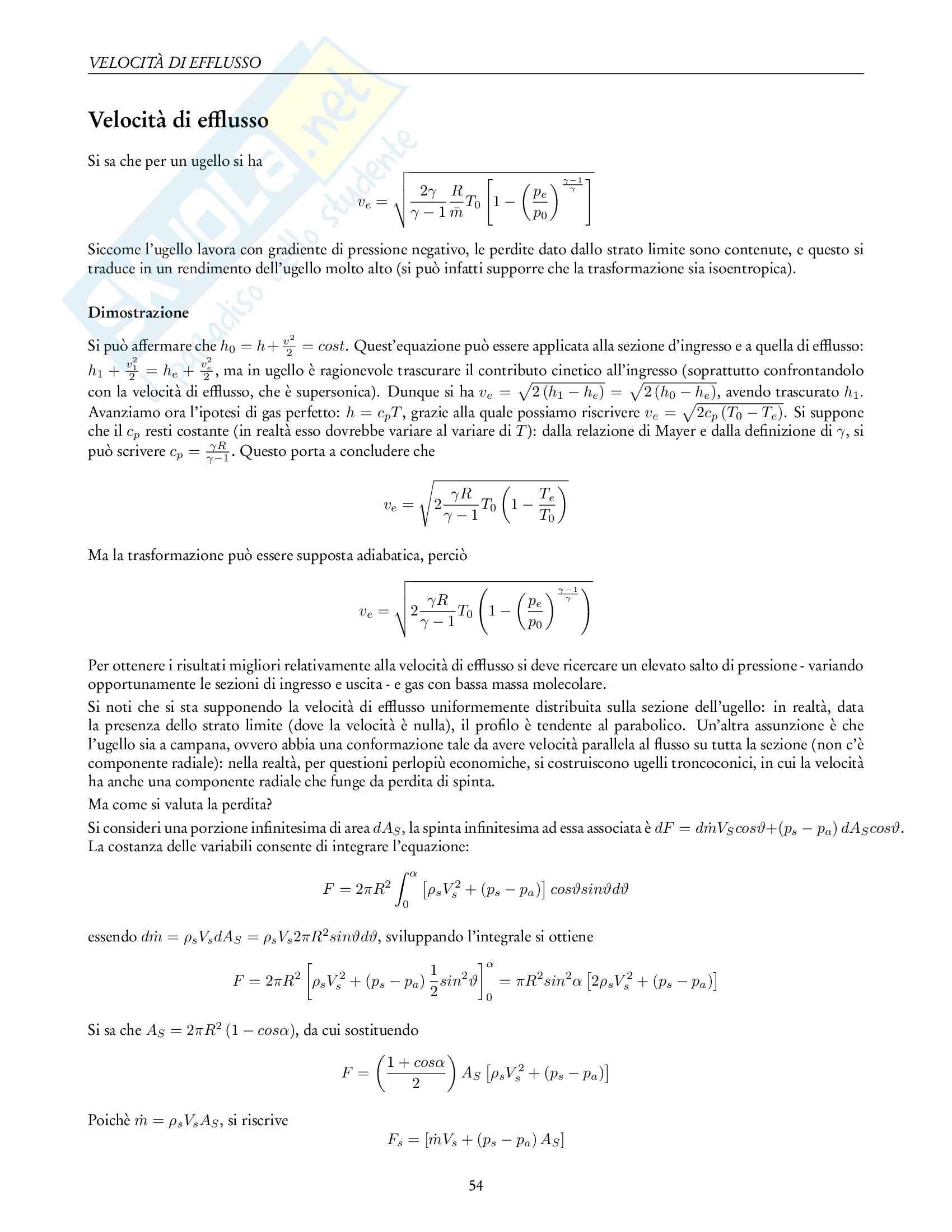 Appunti di Propulsione Aerospaziale Pag. 56