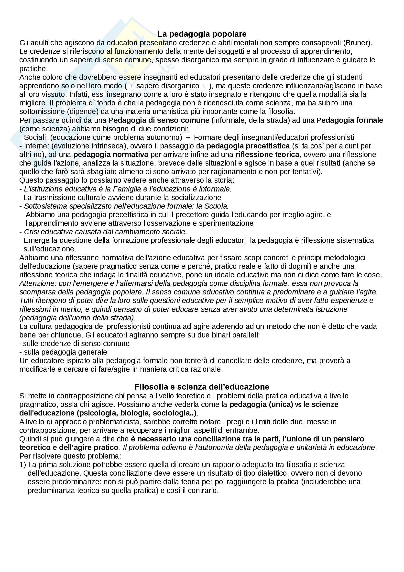 Pedagogia Generale Pag. 2