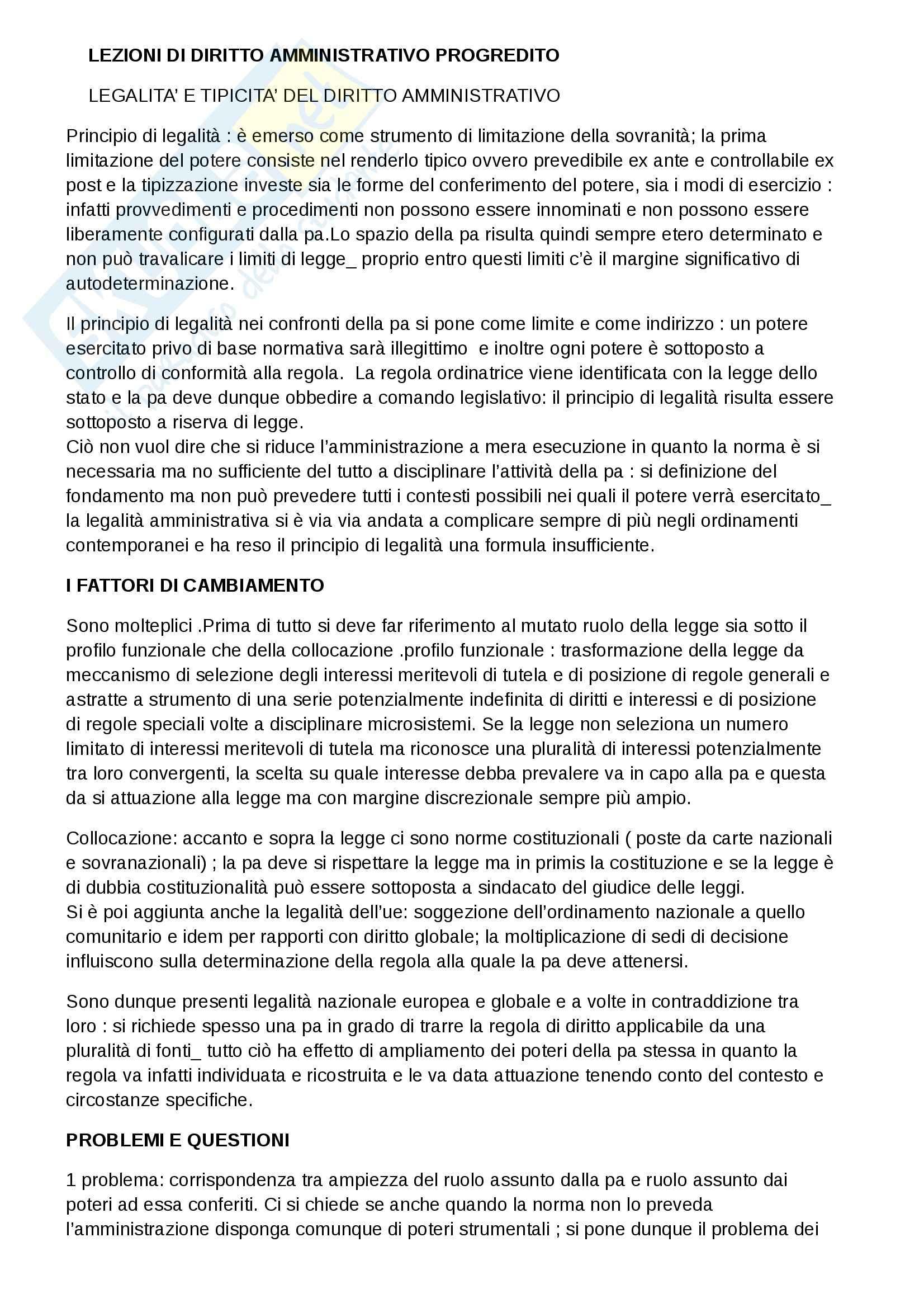 Riassunto esame diritto amministrativo II. prof. Napolitano, libro consigliato Lezioni di diritto amministrativo progredito, Torchia
