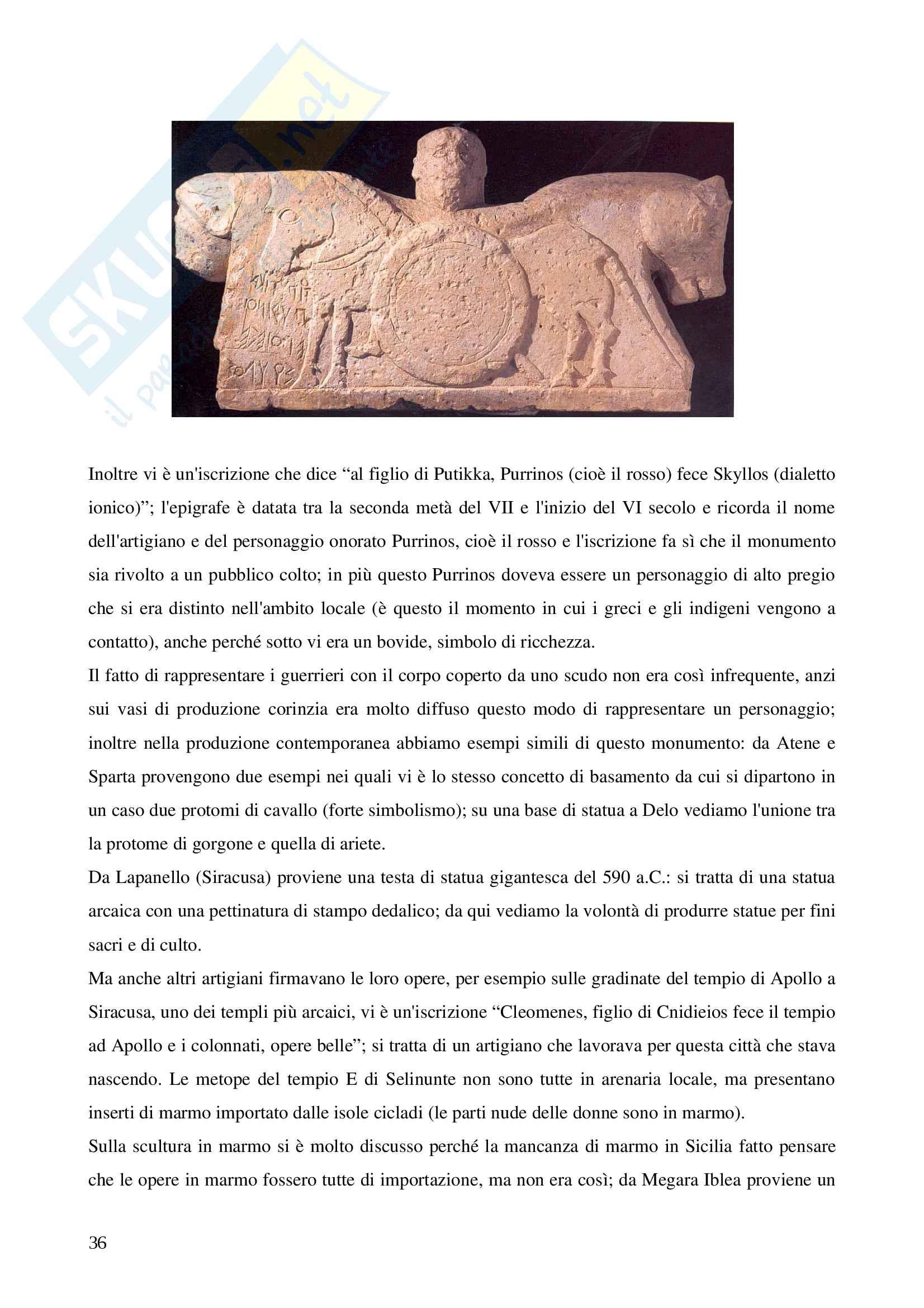 Appunti corso Magna Grecia e Sicilia con immagini Pag. 36