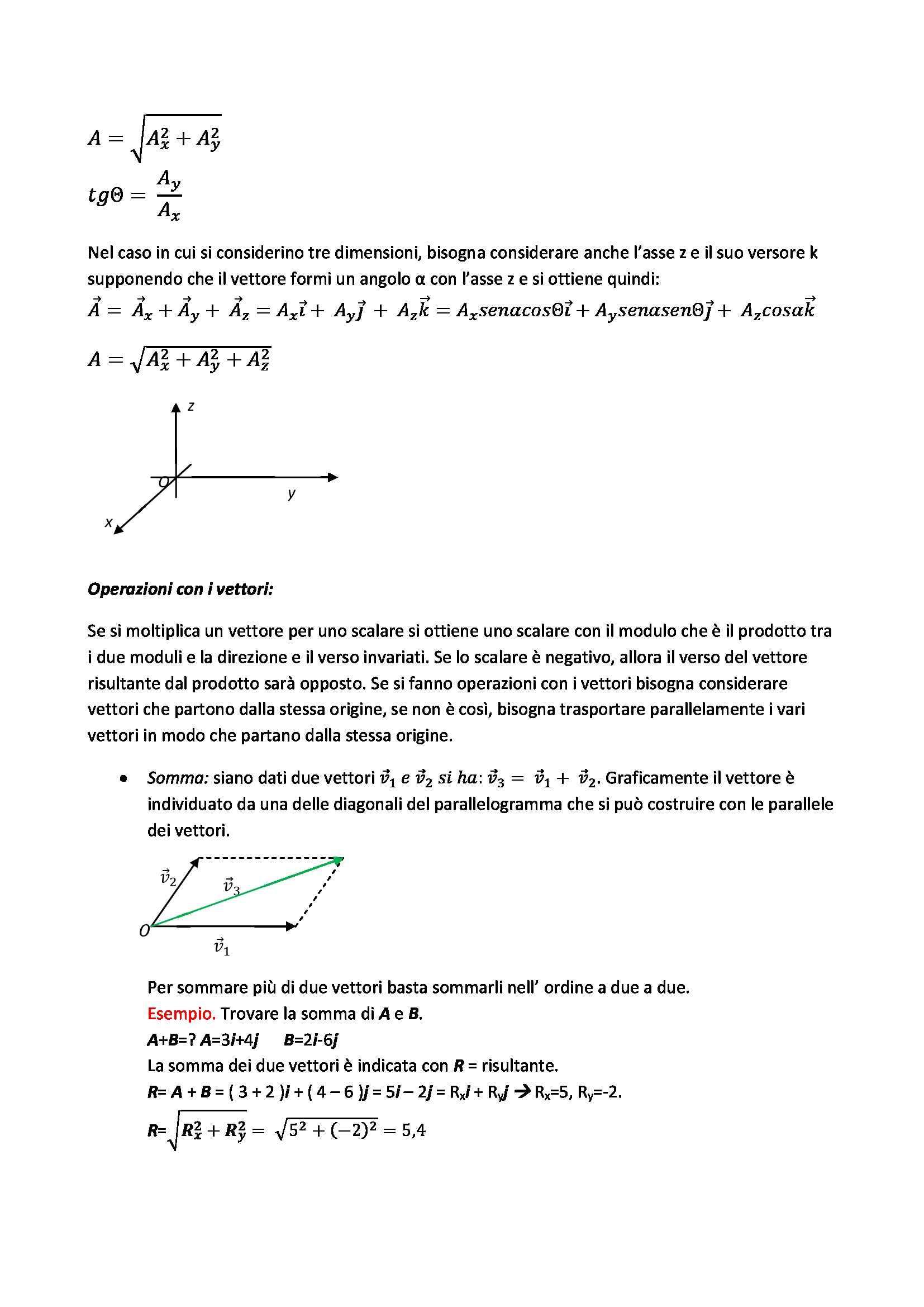 Concetti fondamentali di fisica Pag. 2