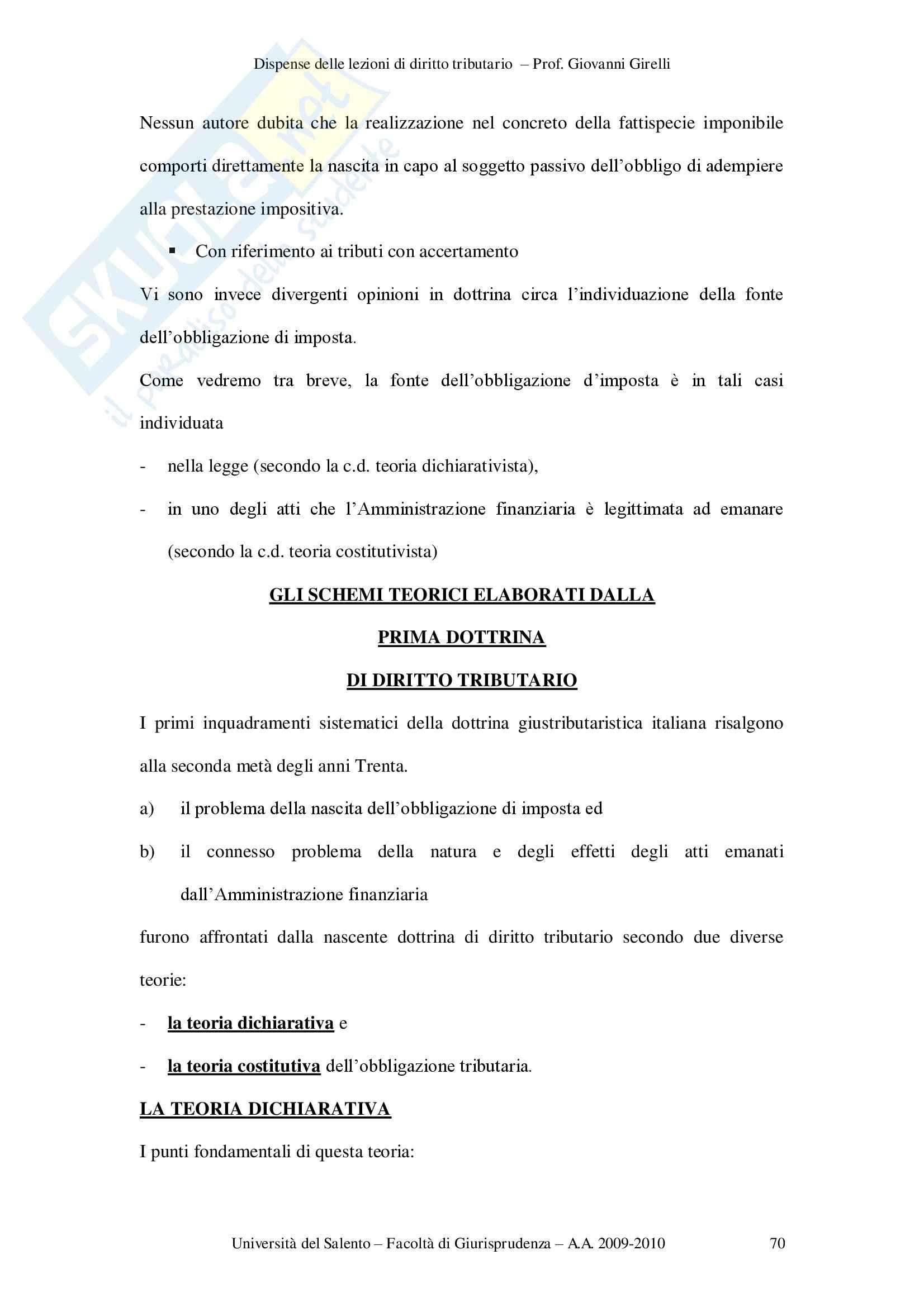 Obbligazione tributaria Pag. 2