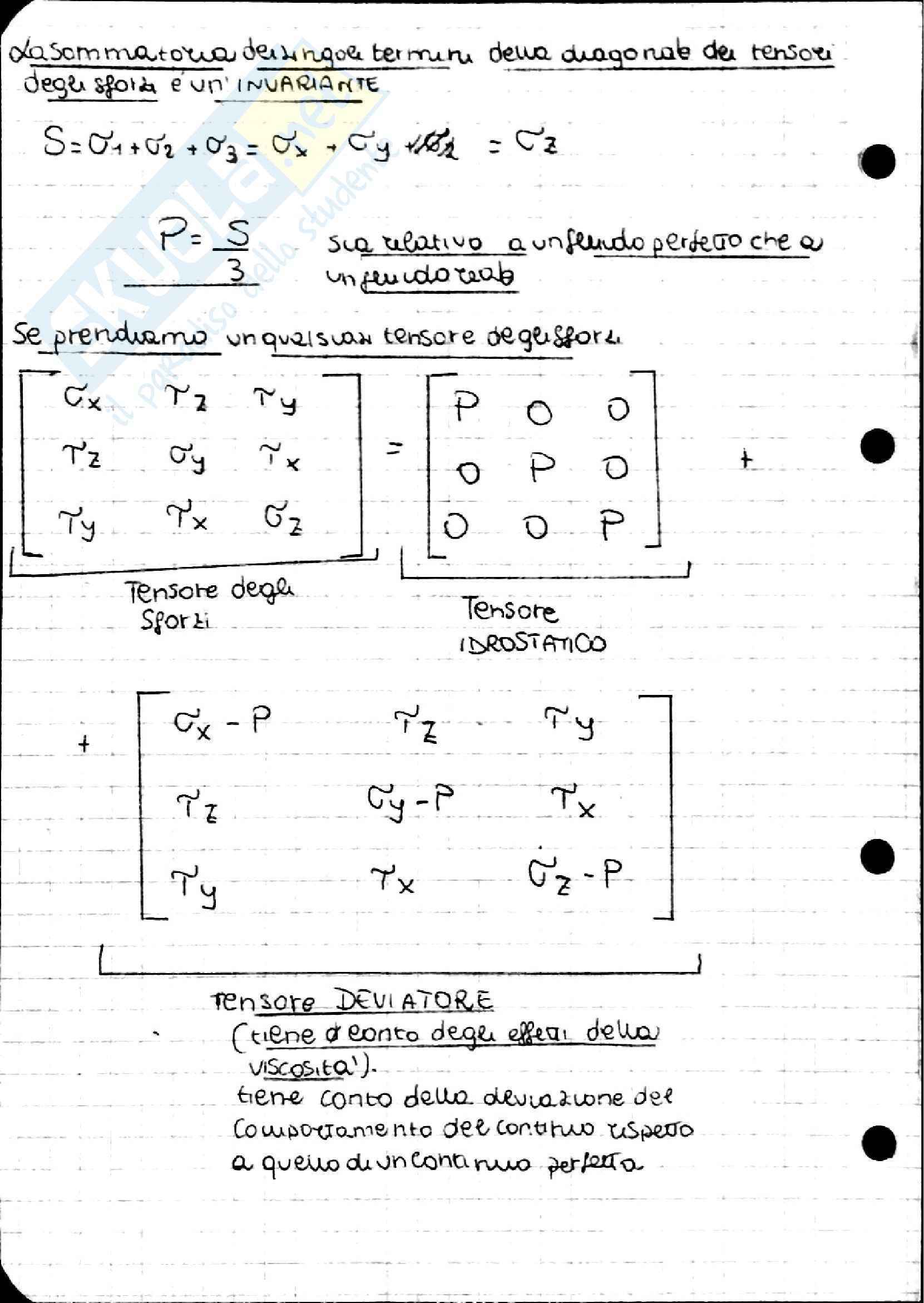 Equazione di Navier Stokes, Idraulica Pag. 2