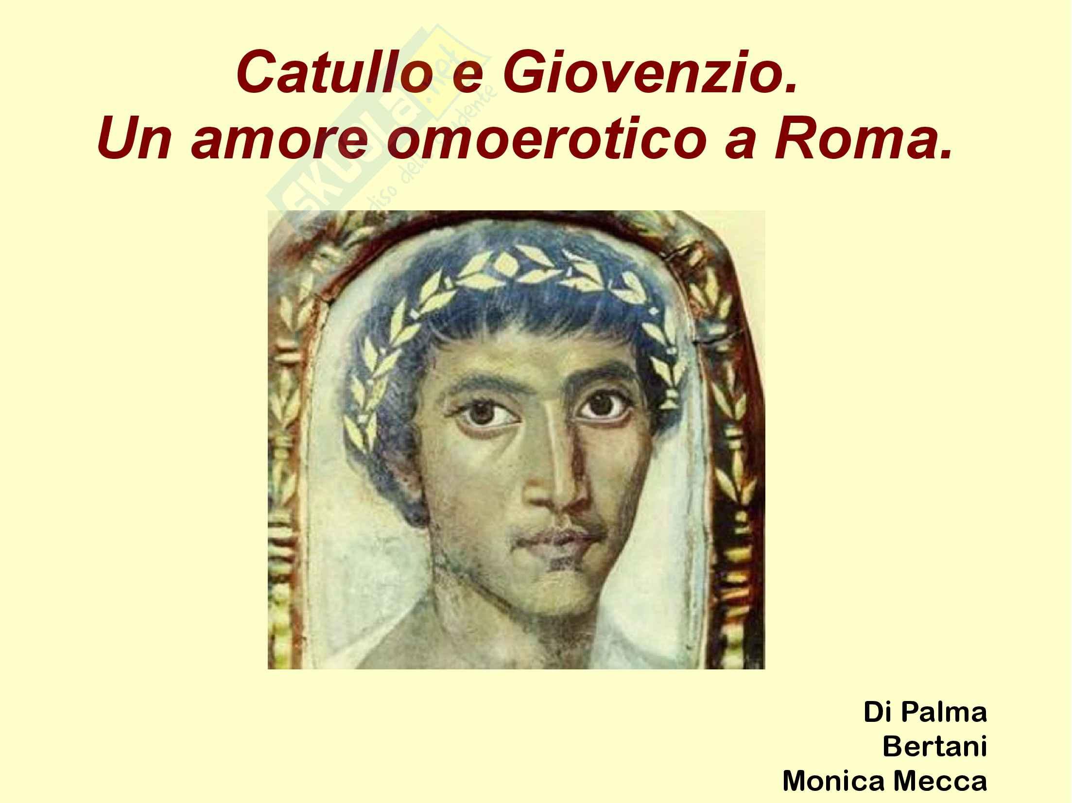 Catullo e Giovenzio