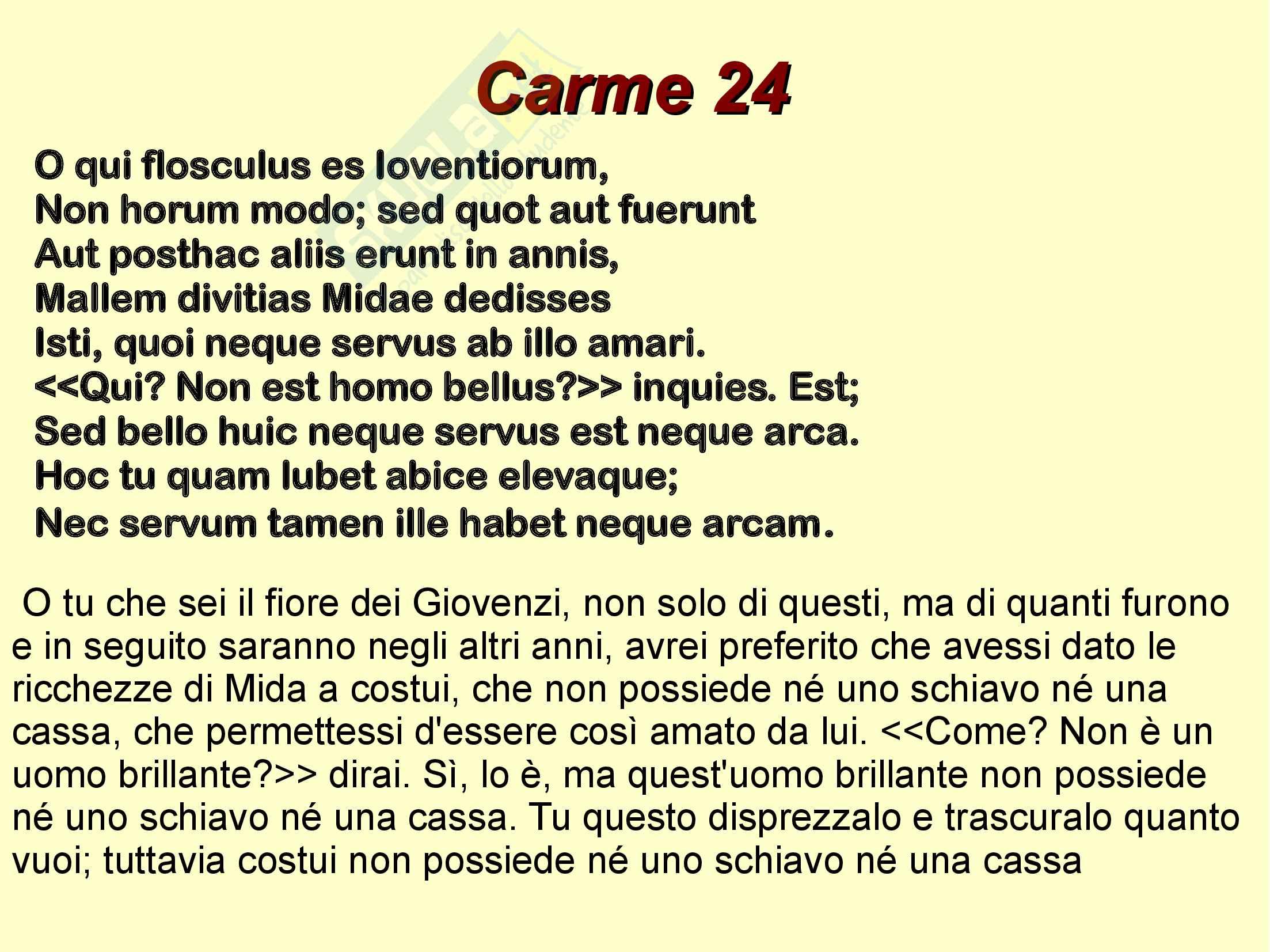 Catullo e Giovenzio Pag. 16