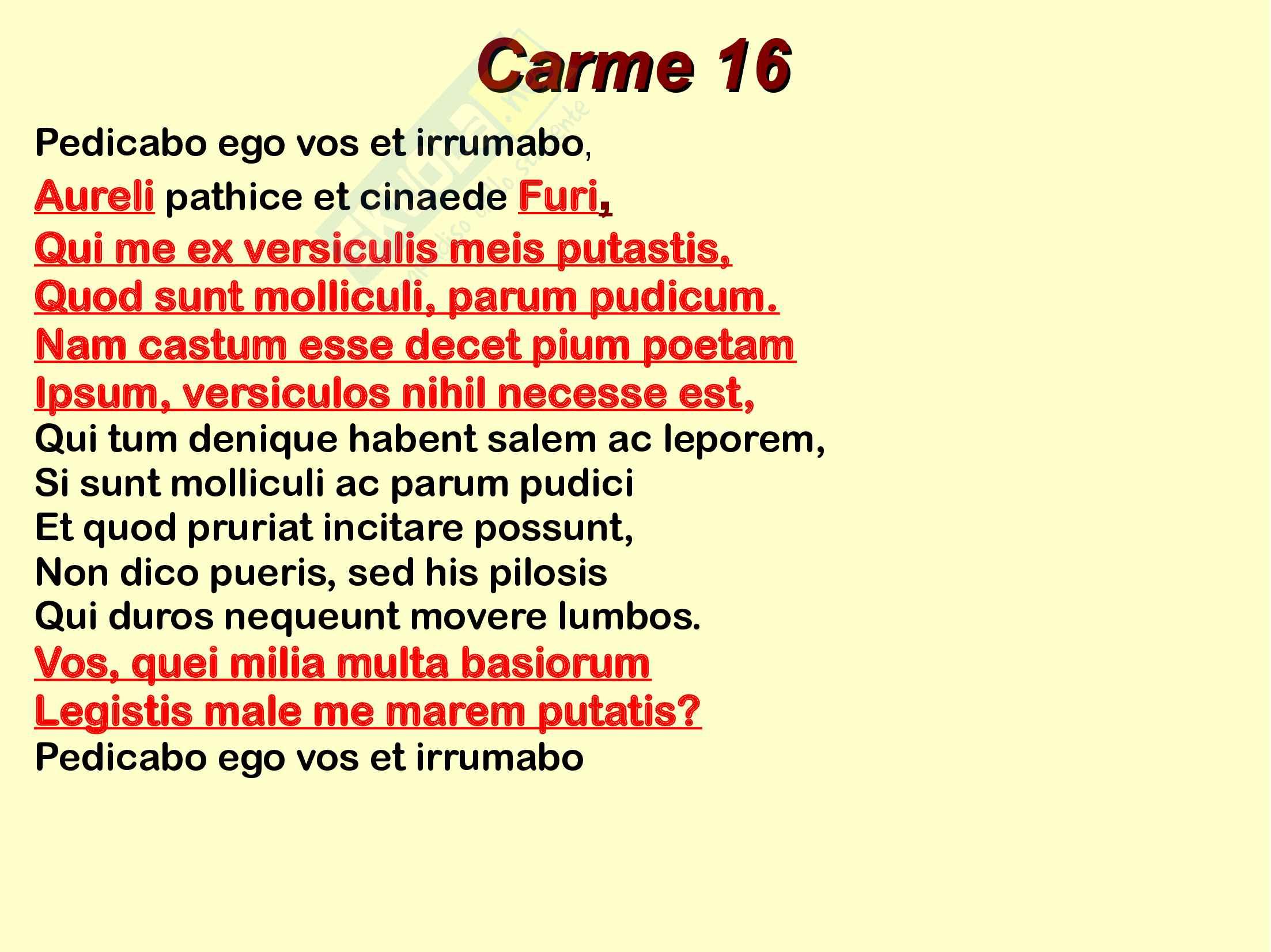 Catullo e Giovenzio Pag. 21