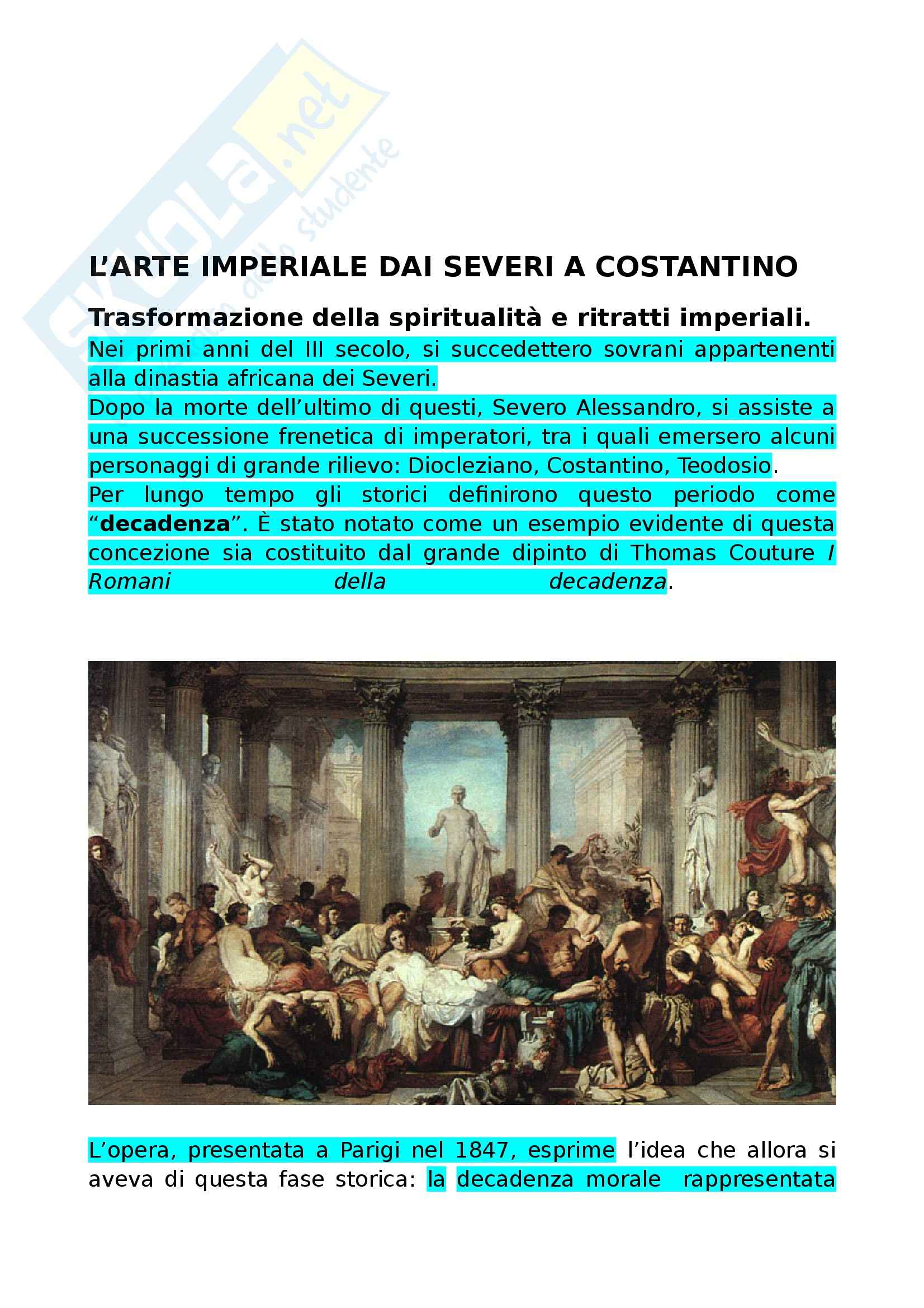 Riassunto esame Storia dell'Arte Medievale, prof. De Marchi, libro consigliato Arte nel Tempo, Bompiani