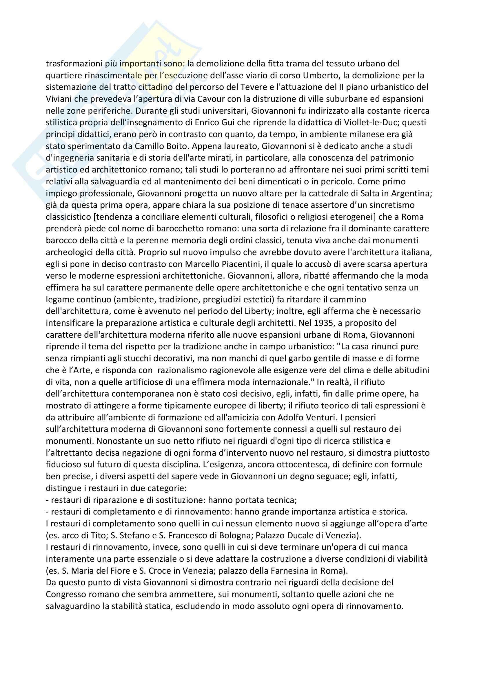 Riassunto esame Fondamenti di conservazione, prof Maramotti, libro consigliato La cultura del restauro, Casiello Pag. 11