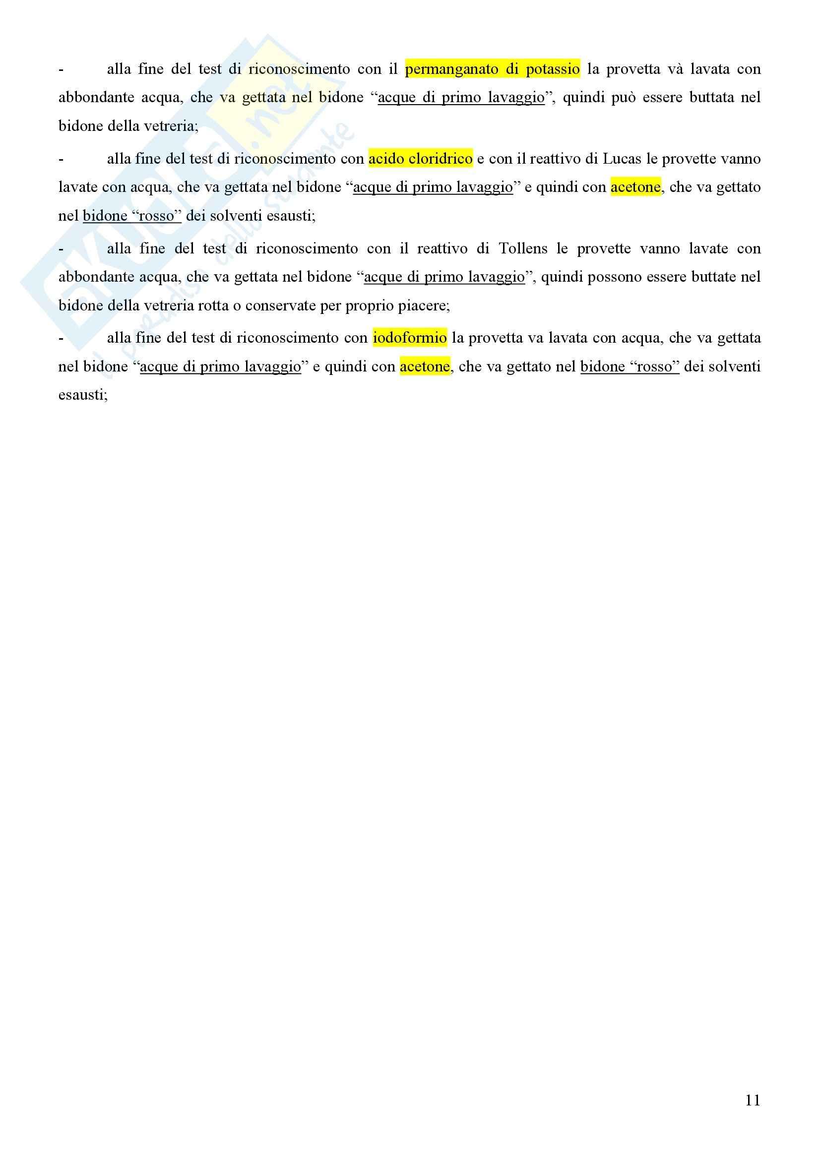 Laboratorio di estrazione e sintesi dei farmaci - Appunti Pag. 11