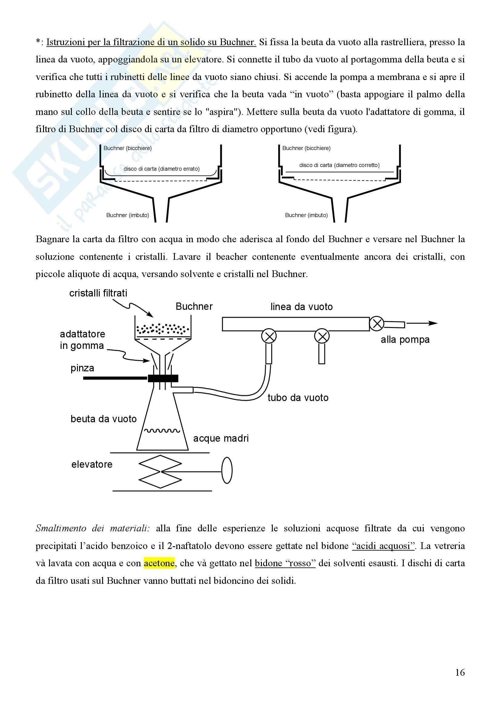 Laboratorio di estrazione e sintesi dei farmaci - Appunti Pag. 16