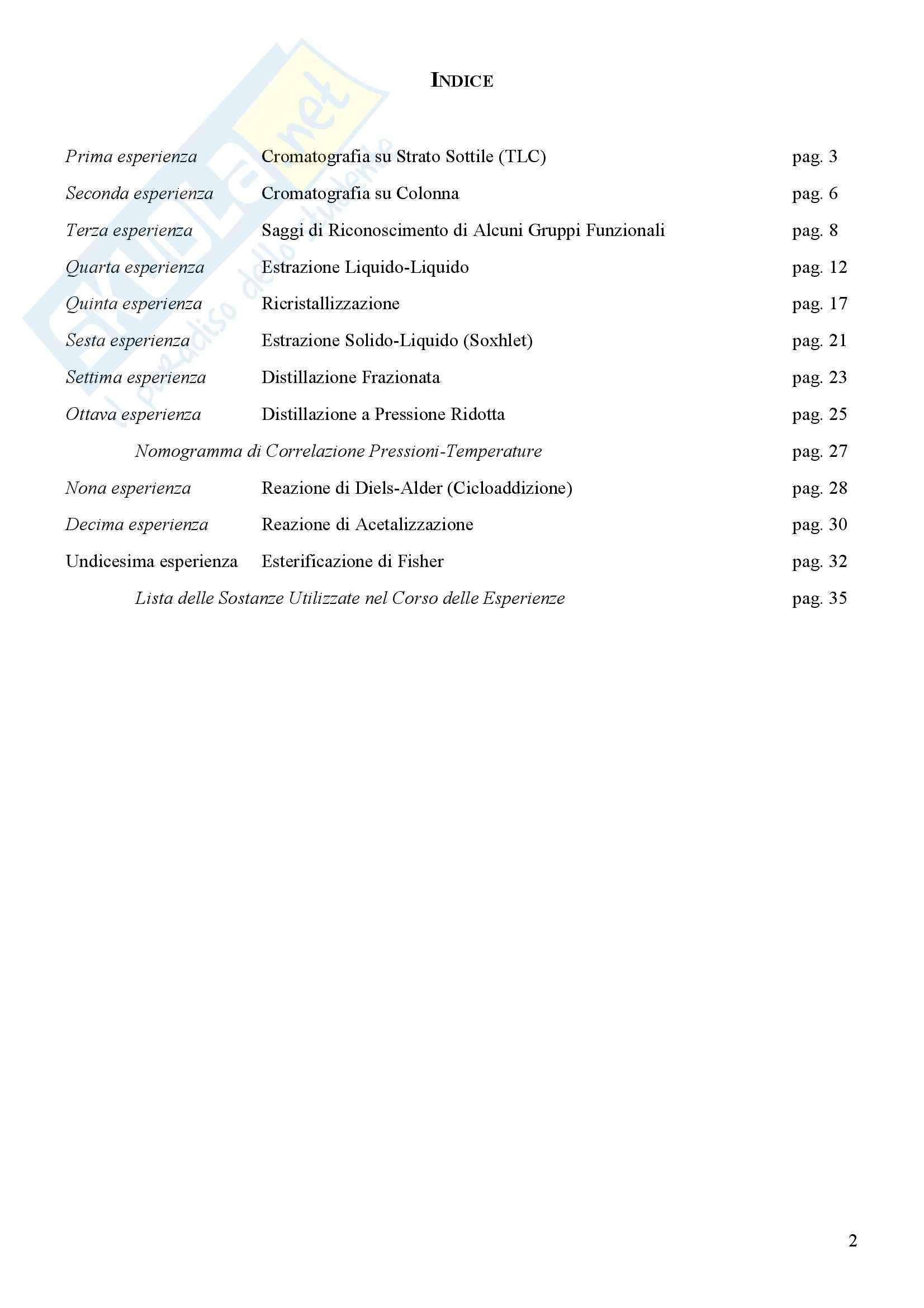 Laboratorio di estrazione e sintesi dei farmaci - Appunti Pag. 2