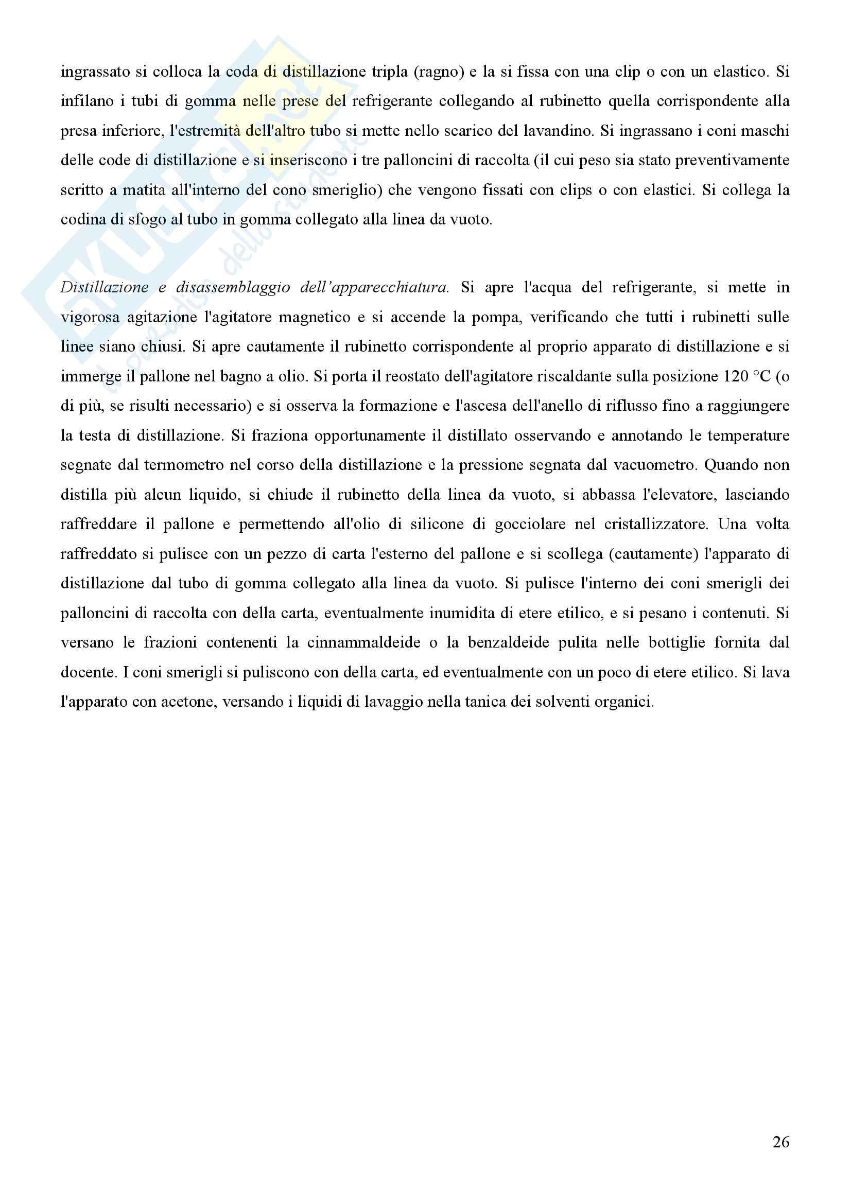 Laboratorio di estrazione e sintesi dei farmaci - Appunti Pag. 26