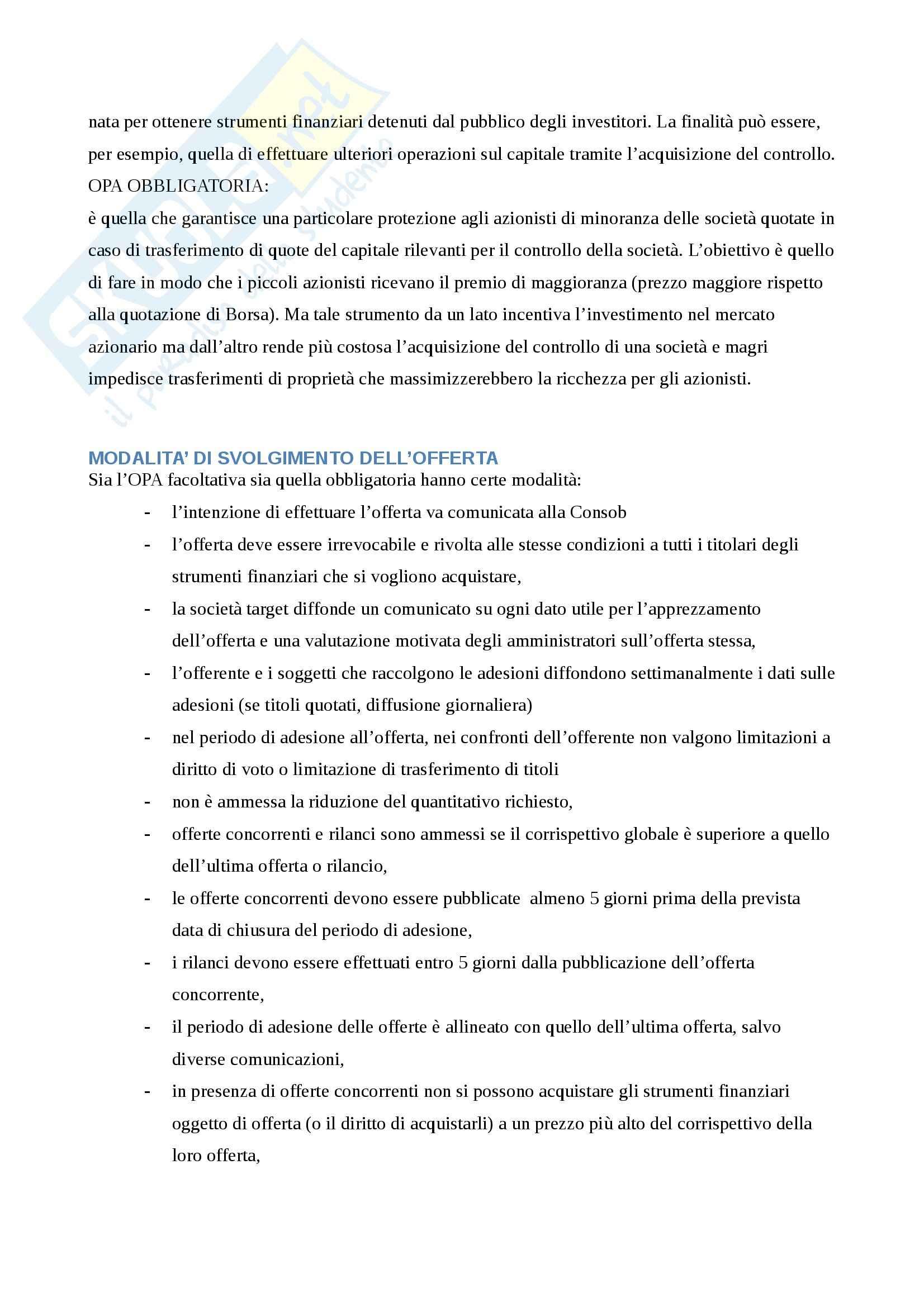 Riassunto esame Economia degli Intermediari Finanziari, prof. Gualtieri, libro consigliato Il Sistema Finanziario, Bongini, Di Battista, Paternello Pag. 111