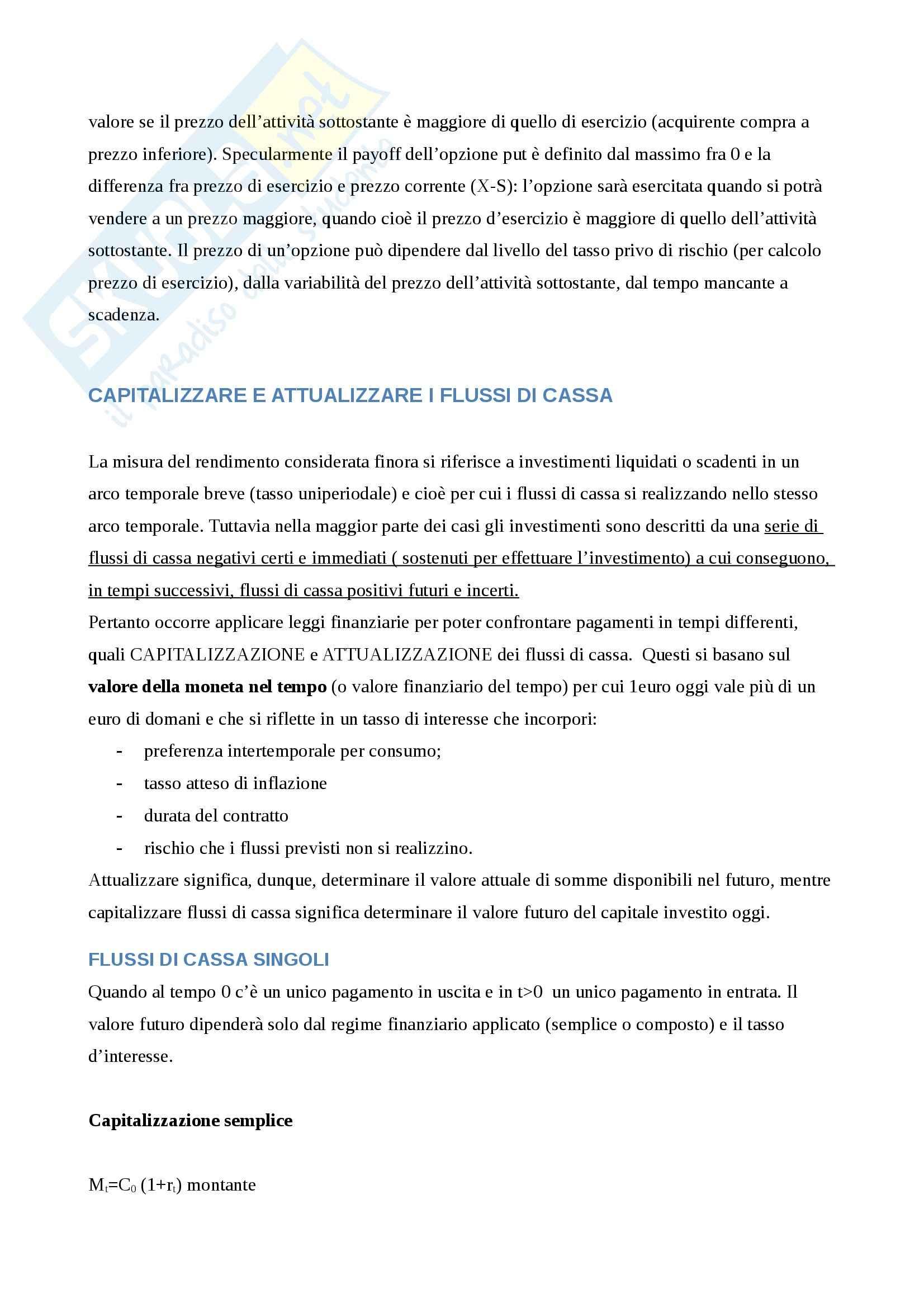 Riassunto esame Economia degli Intermediari Finanziari, prof. Gualtieri, libro consigliato Il Sistema Finanziario, Bongini, Di Battista, Paternello Pag. 51
