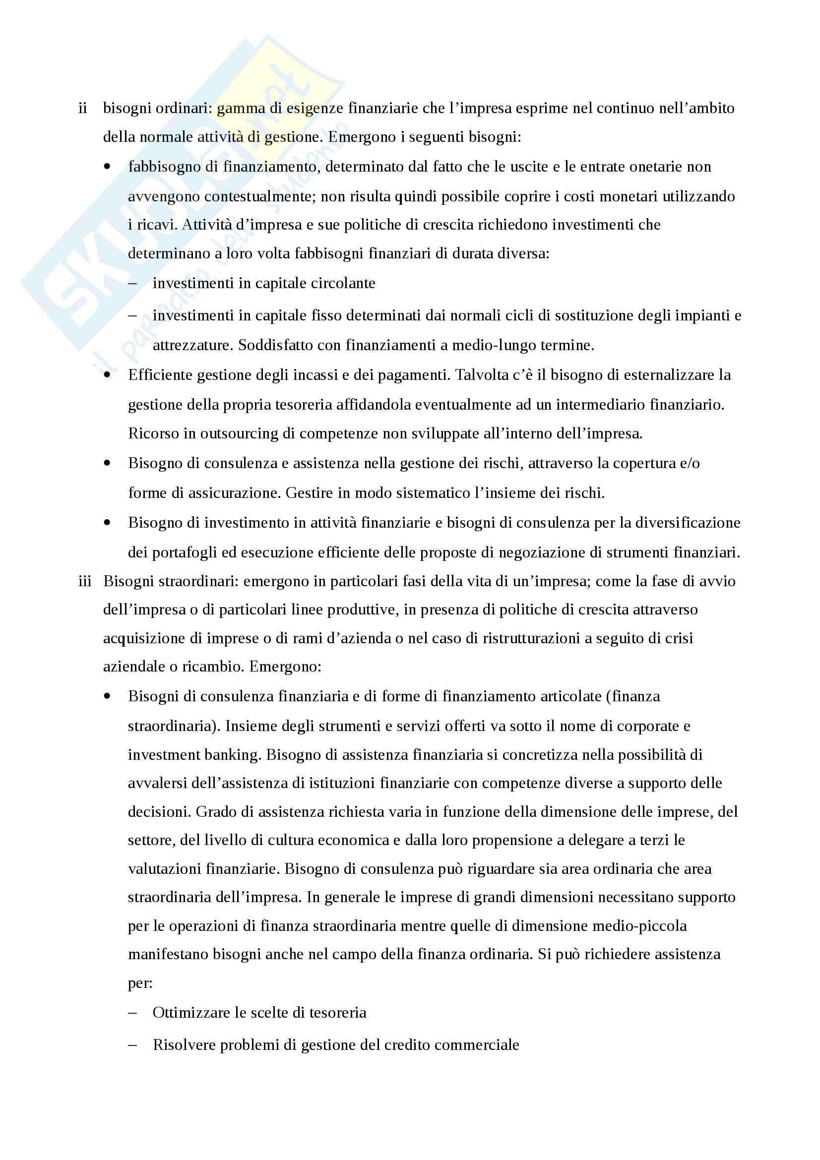 Riassunto esame Economia degli Intermediari Finanziari, prof. Gualtieri, libro consigliato Il Sistema Finanziario, Bongini, Di Battista, Paternello Pag. 56