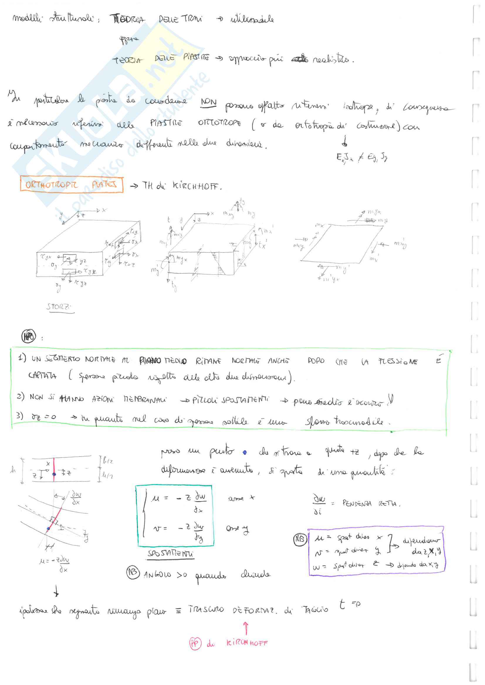 Teoria del corso Pag. 2
