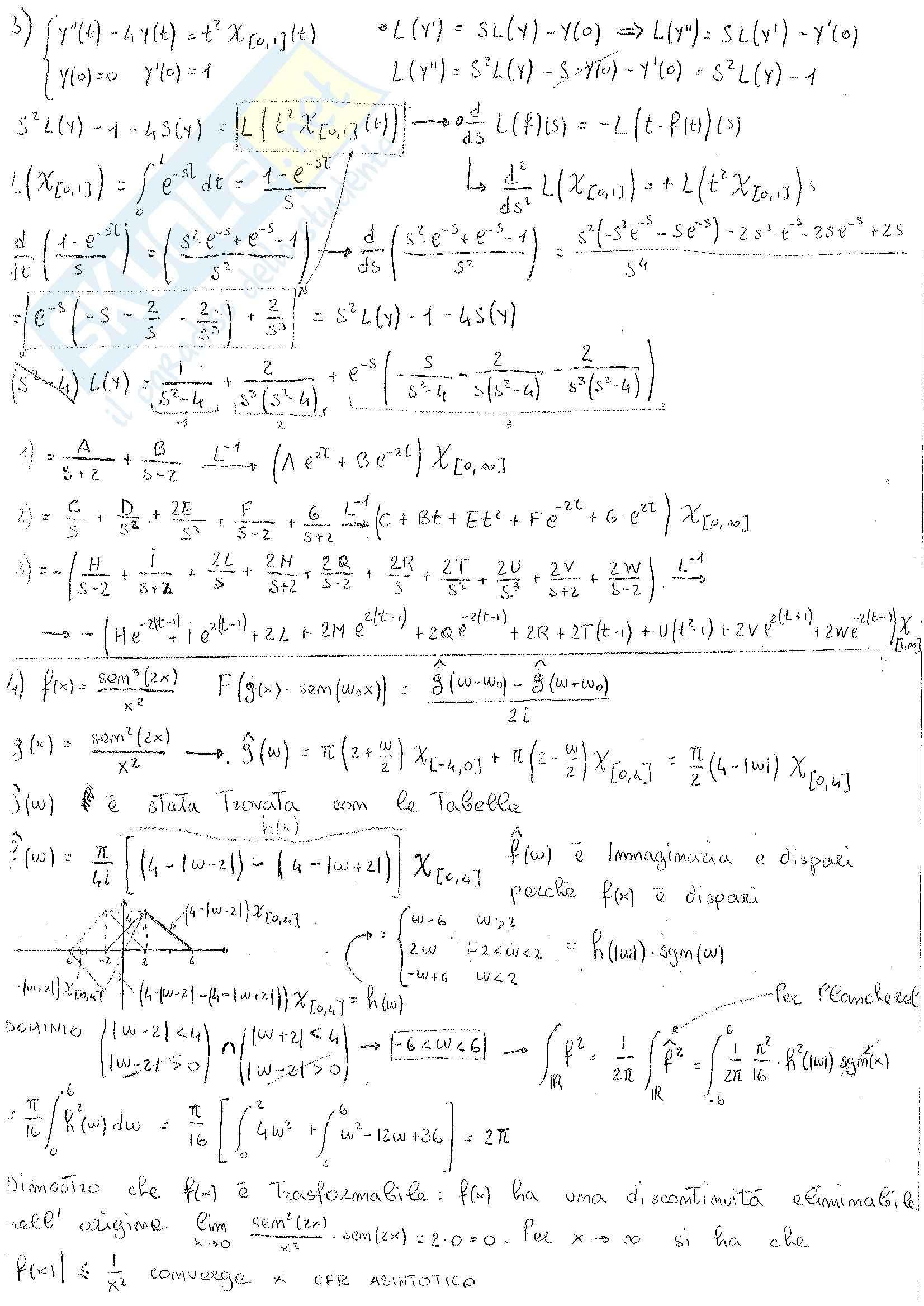 Analisi Complessa - Esercizi Pag. 2