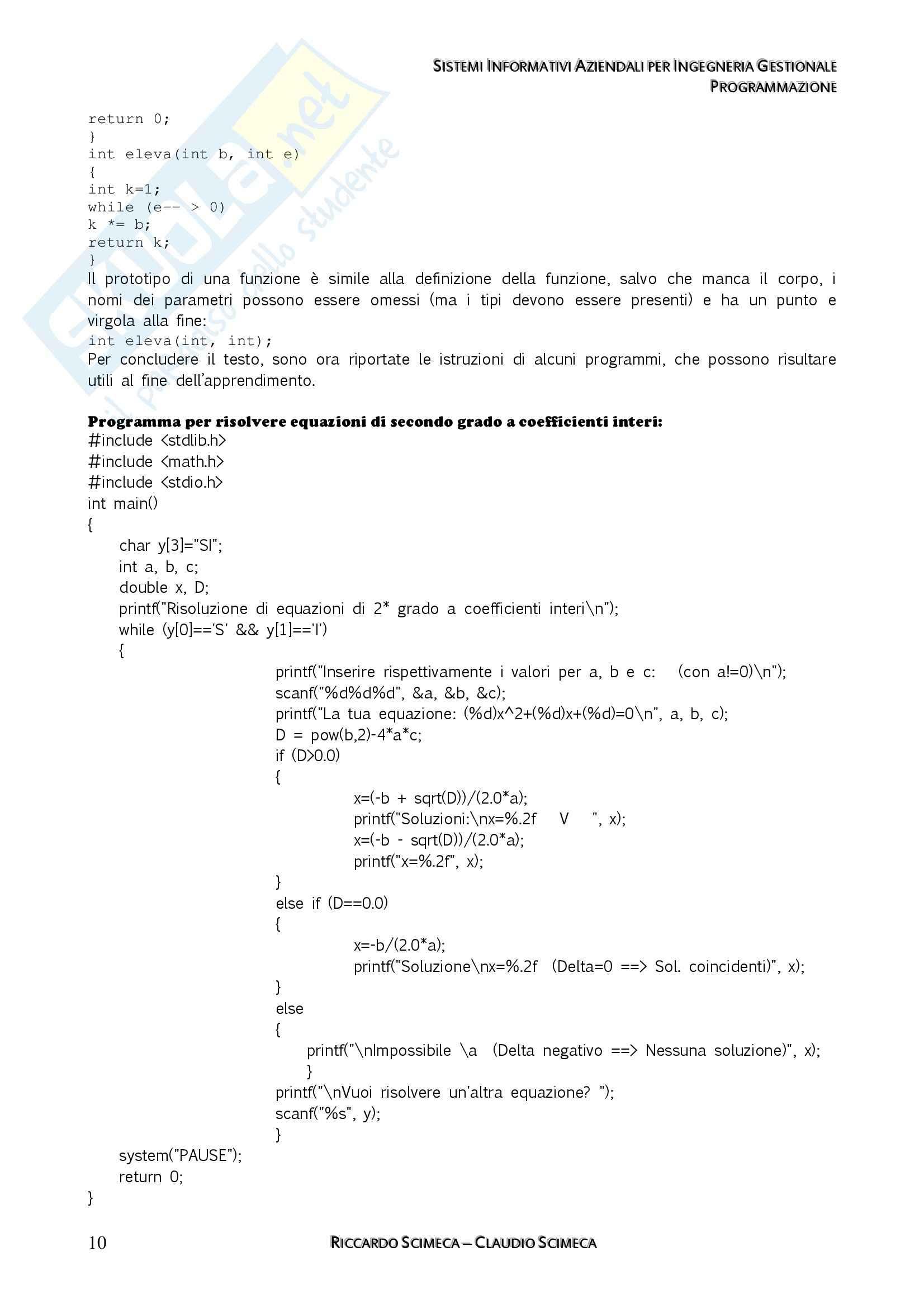 Sistemi Informativi Aziendali - Appunti Pag. 31
