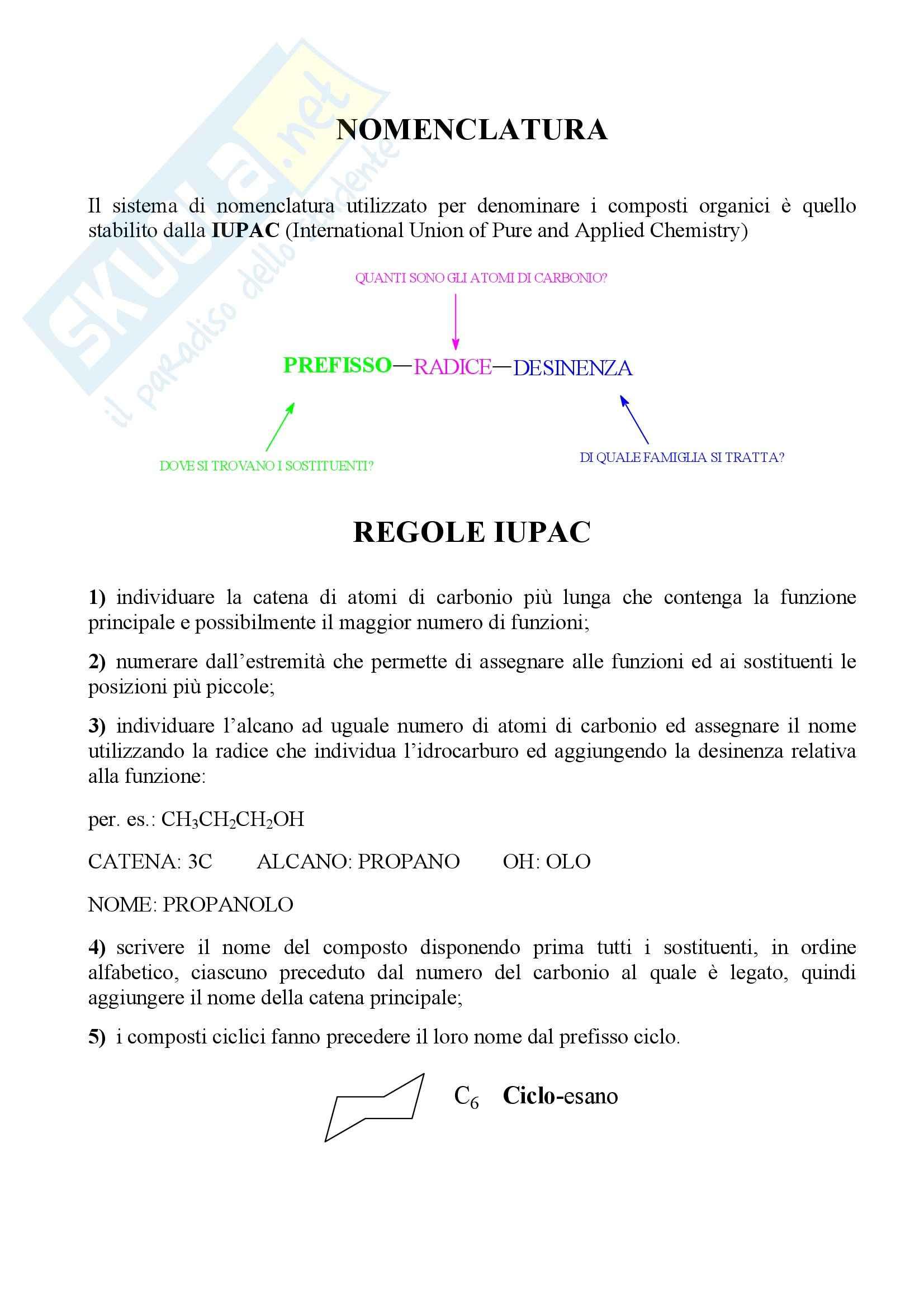 appunto G. Romeo Chimica organica