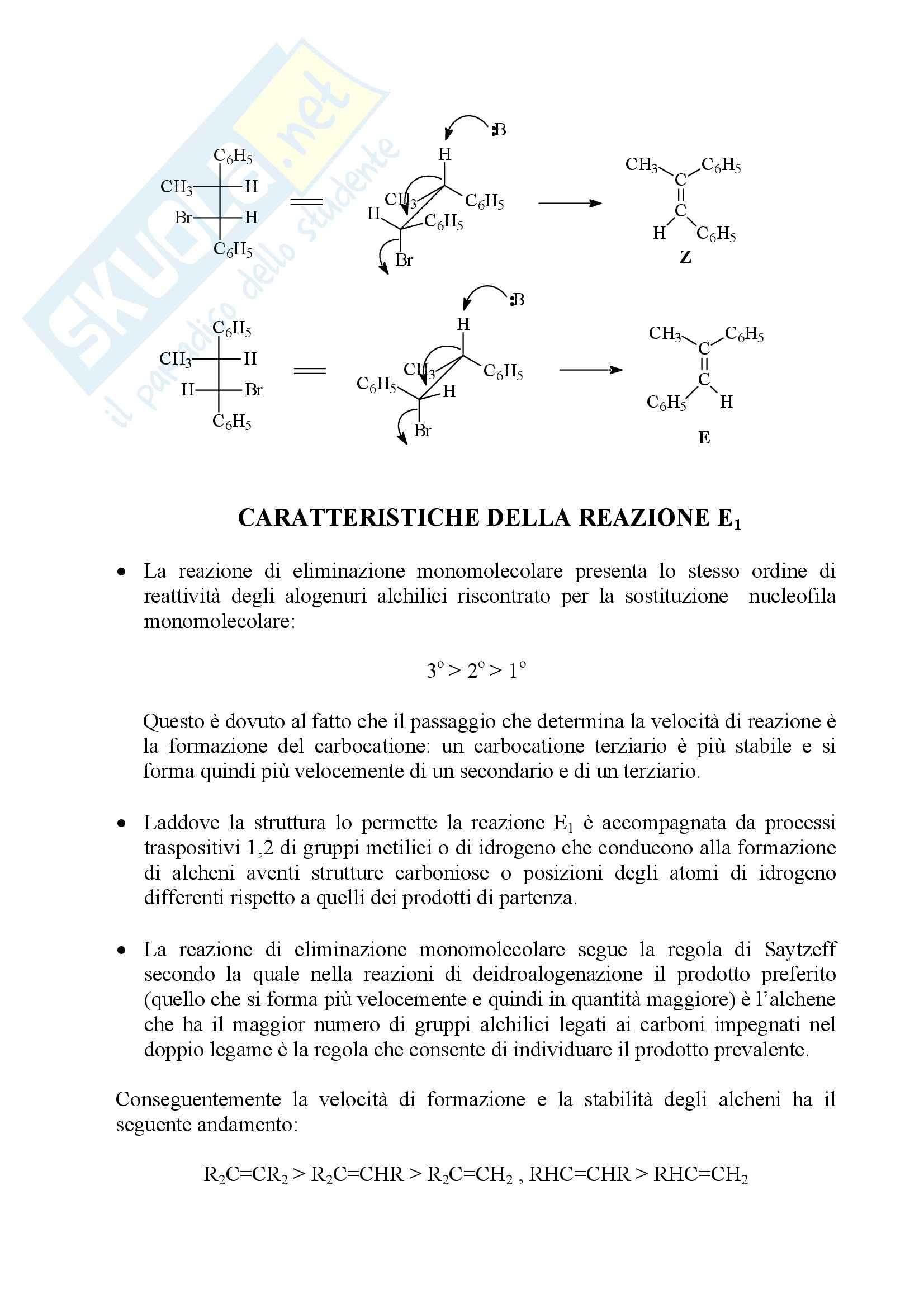 Chimica organica - Appunti Pag. 31
