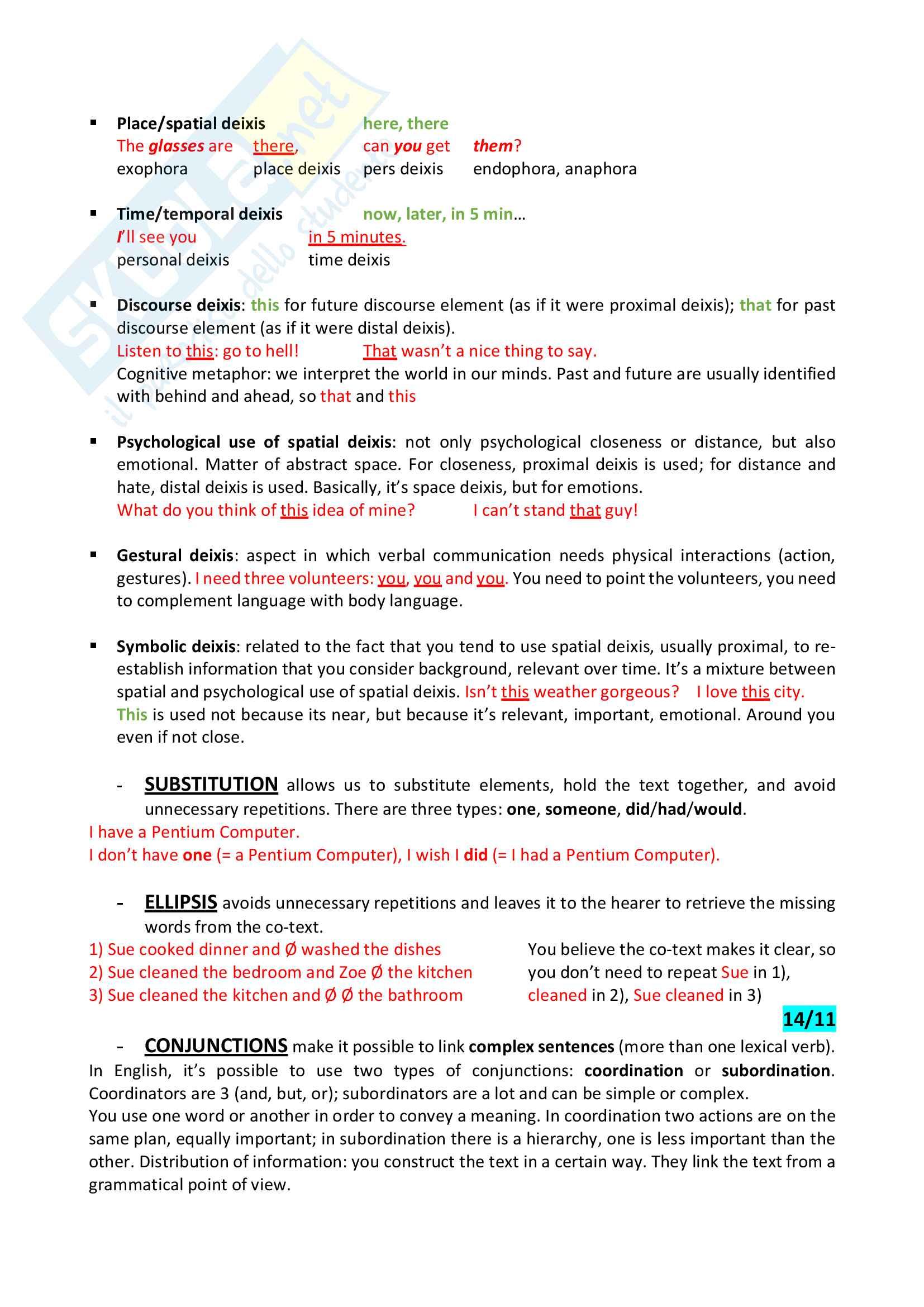 Appunti di Modulo Teorico Inglese III MT Pag. 11