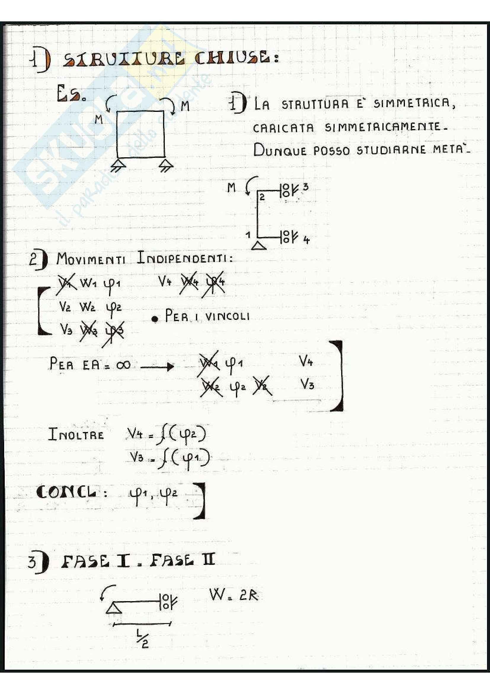 Tecnica delle Costruzioni - Esercizi Pag. 11