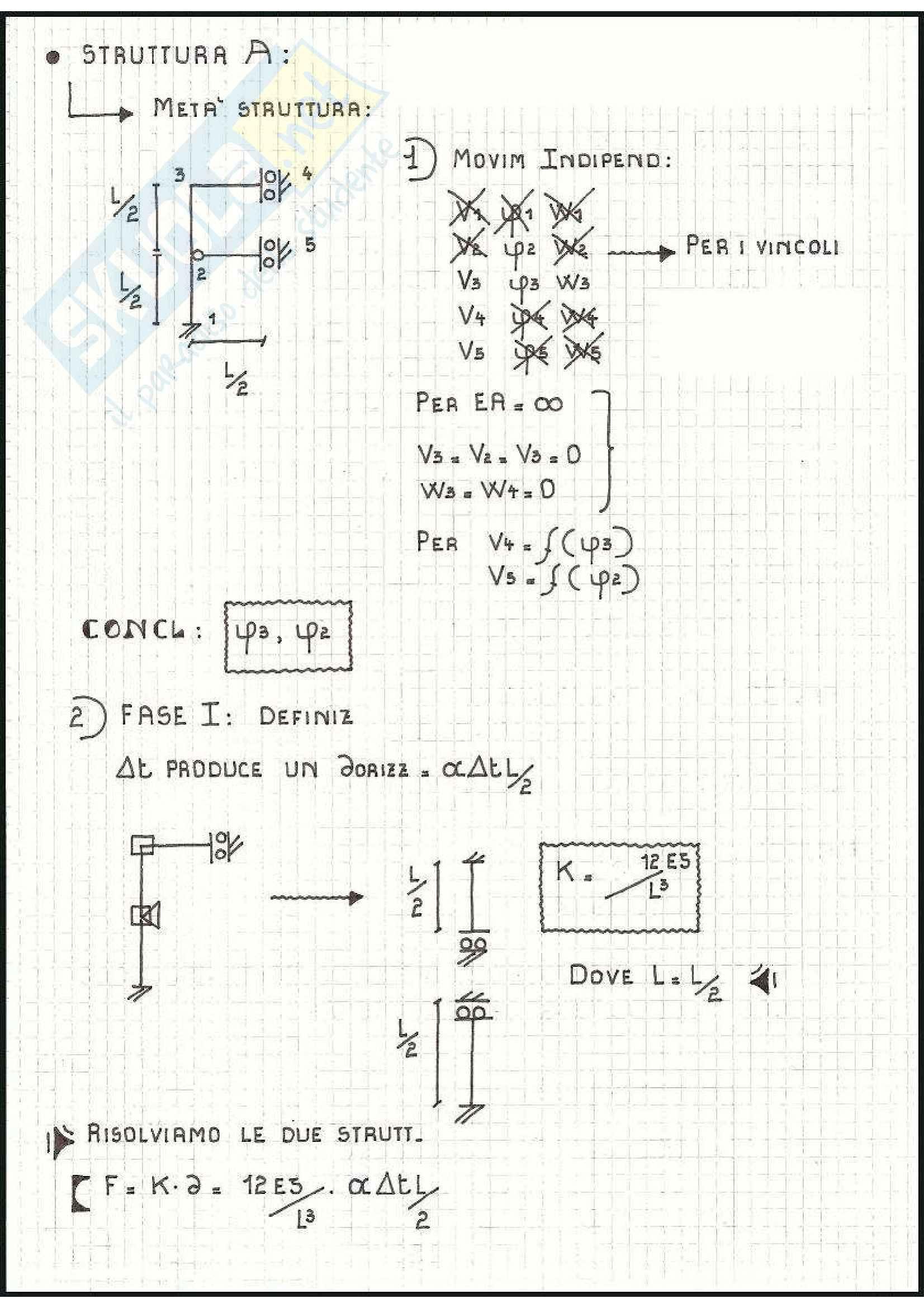 Tecnica delle Costruzioni - Esercizi Pag. 31