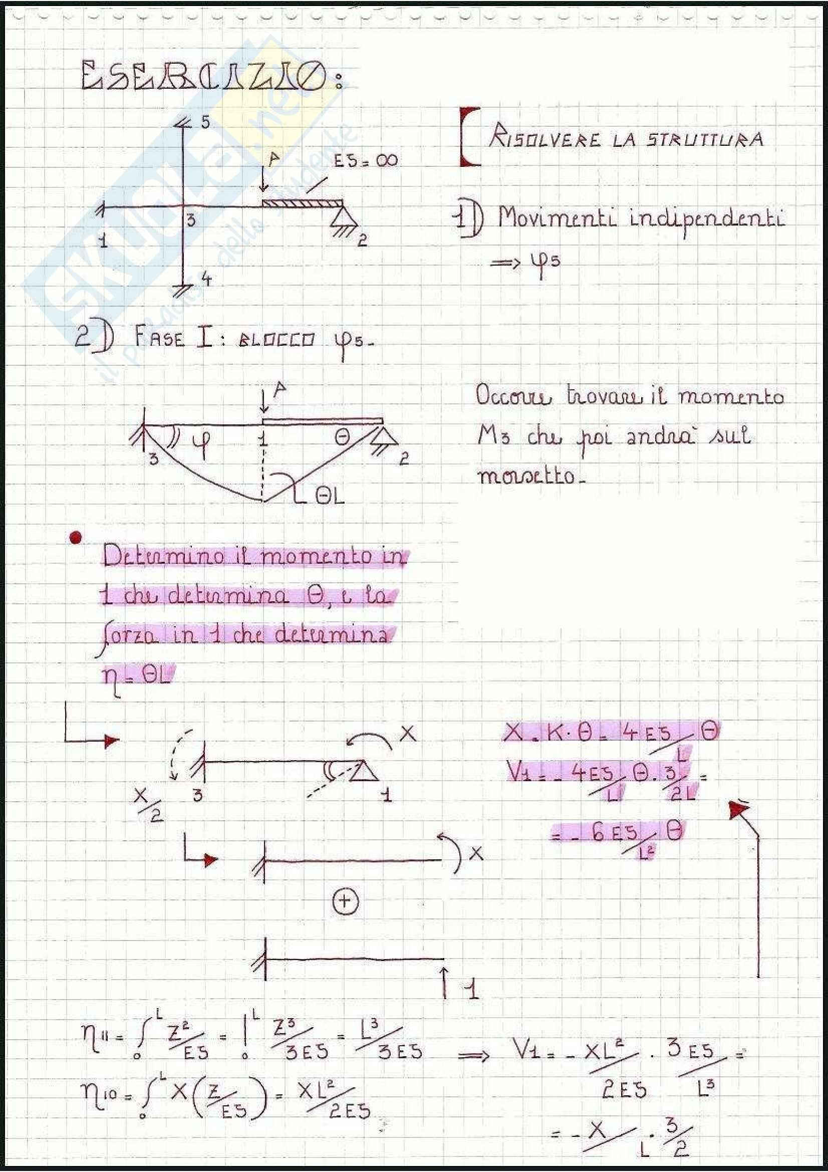 Tecnica delle Costruzioni - Esercizi Pag. 46