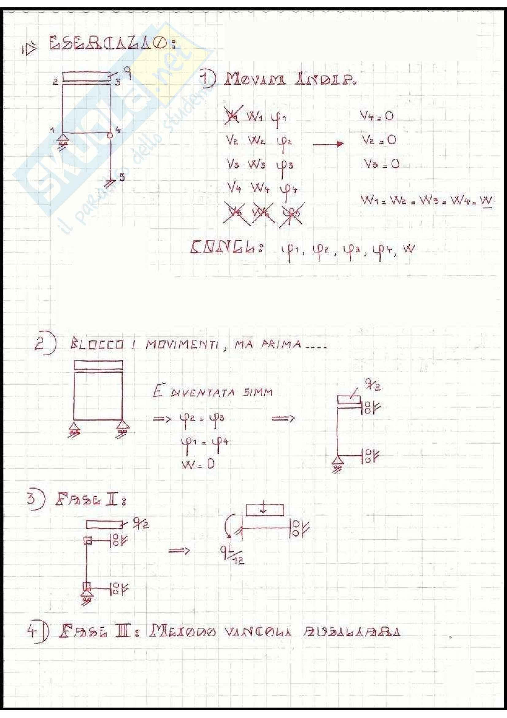 Tecnica delle Costruzioni - Esercizi Pag. 51