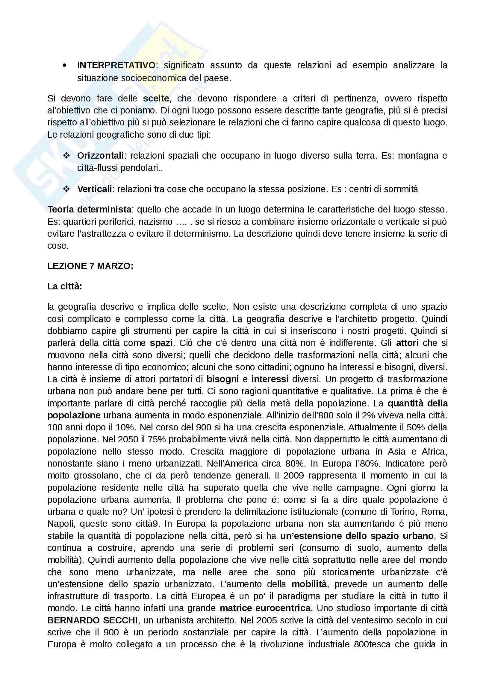 Lezioni: Appunti di Geografia Pag. 2