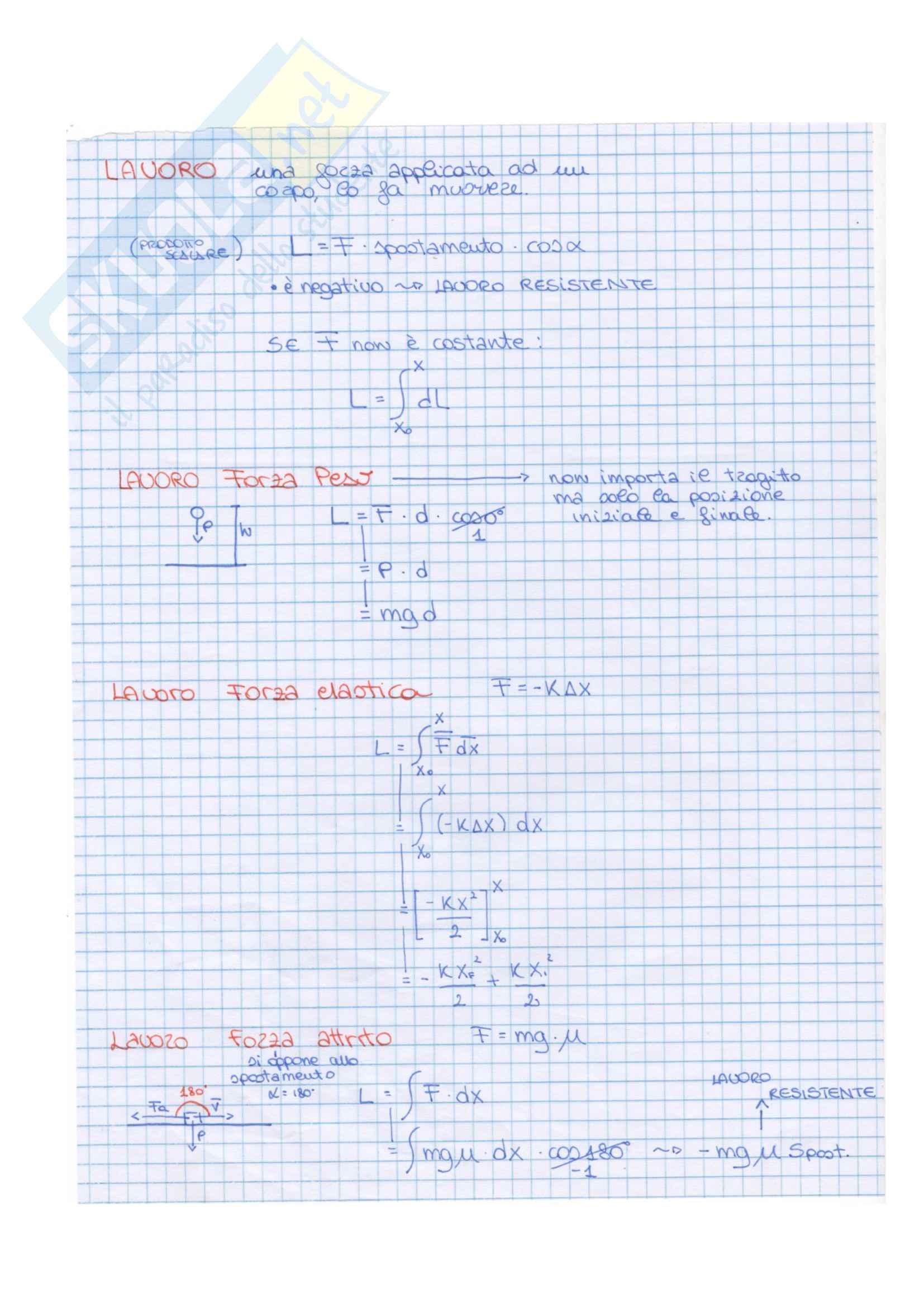Dimostrazioni di tutte le formule di fisica Pag. 6