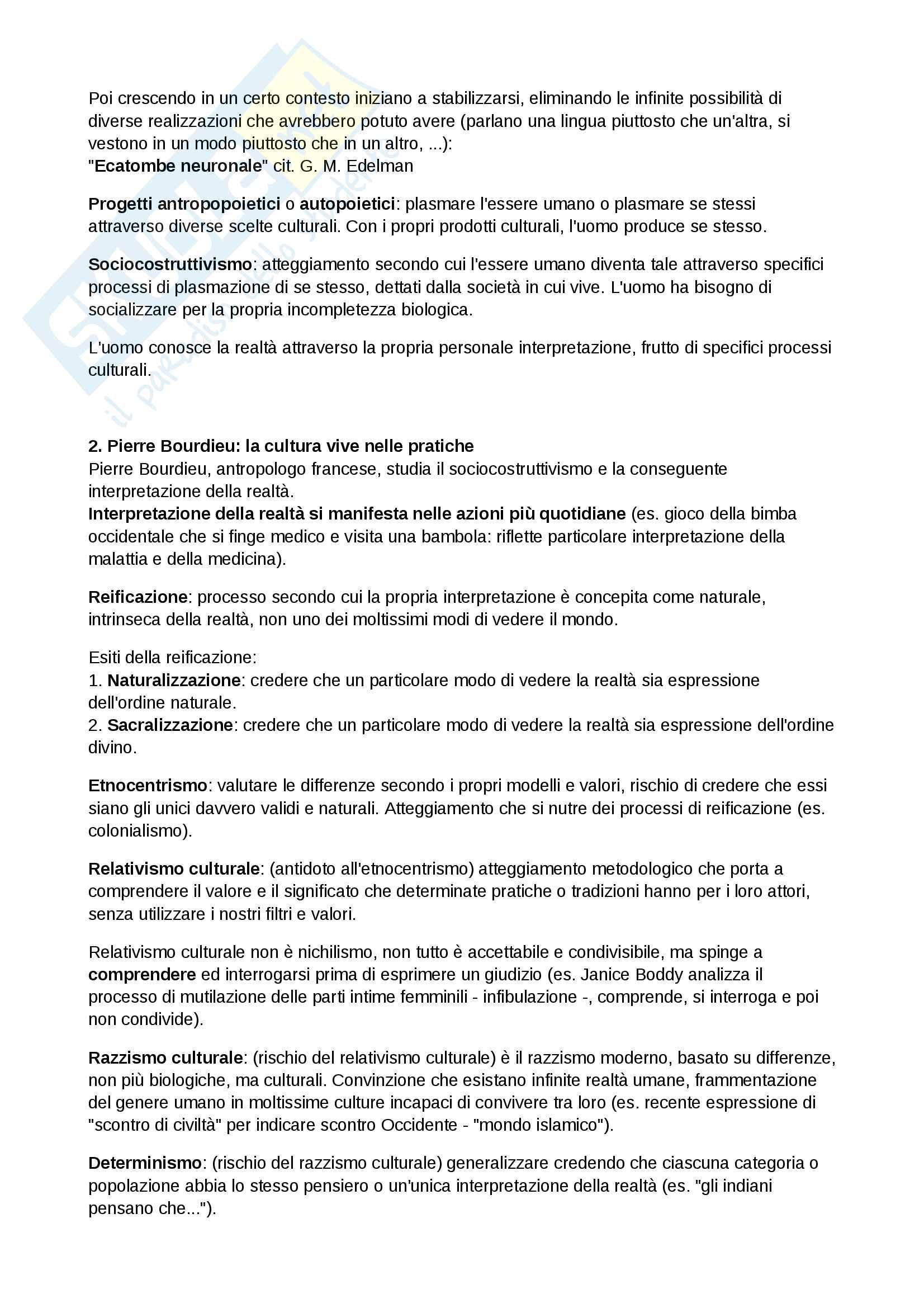 Riassunto esame Antropologia culturale, prof. Quaranta, libro consigliato Modernità in Polvere, Appadurai Pag. 2