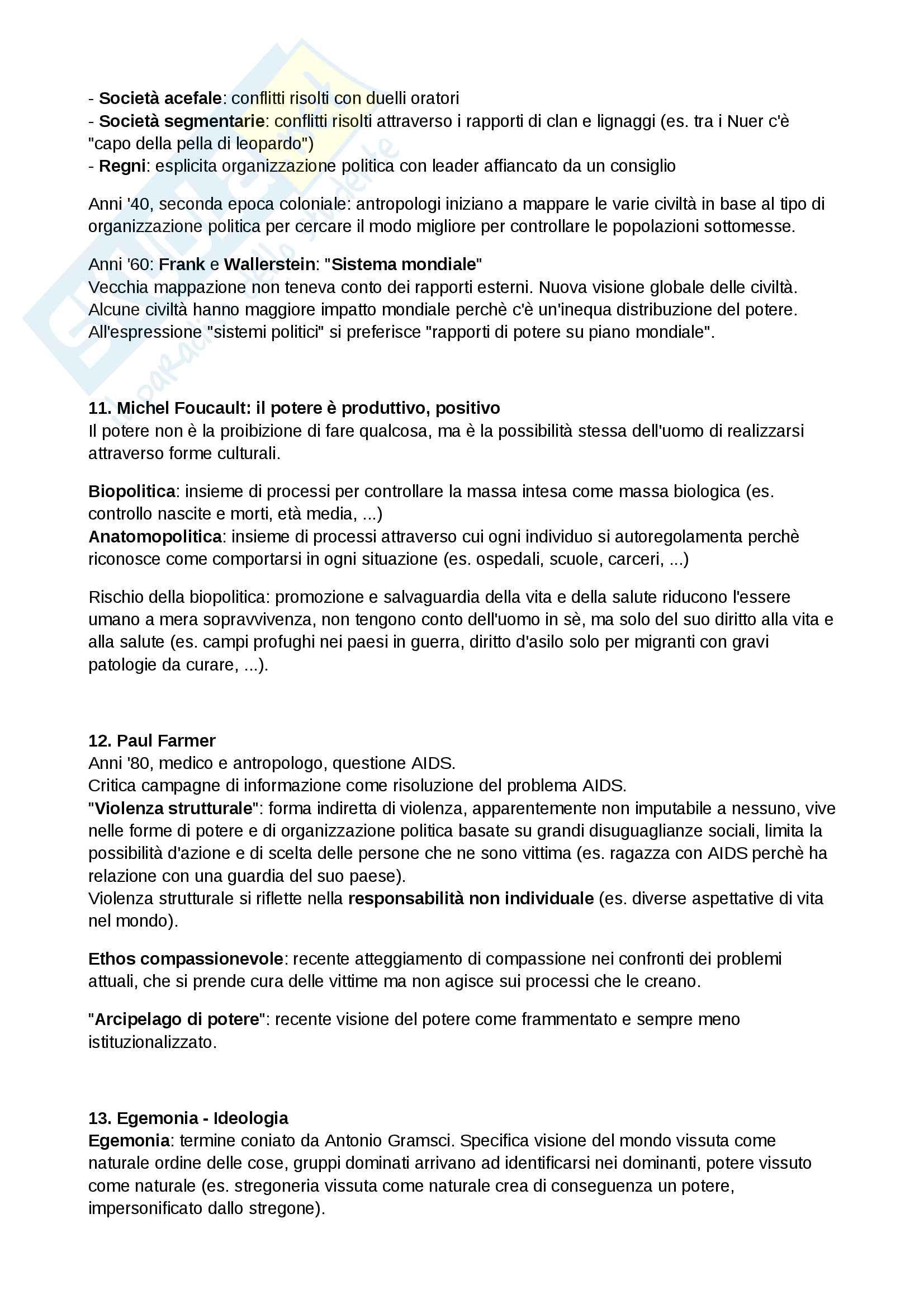 Riassunto esame Antropologia culturale, prof. Quaranta, libro consigliato Modernità in Polvere, Appadurai Pag. 6
