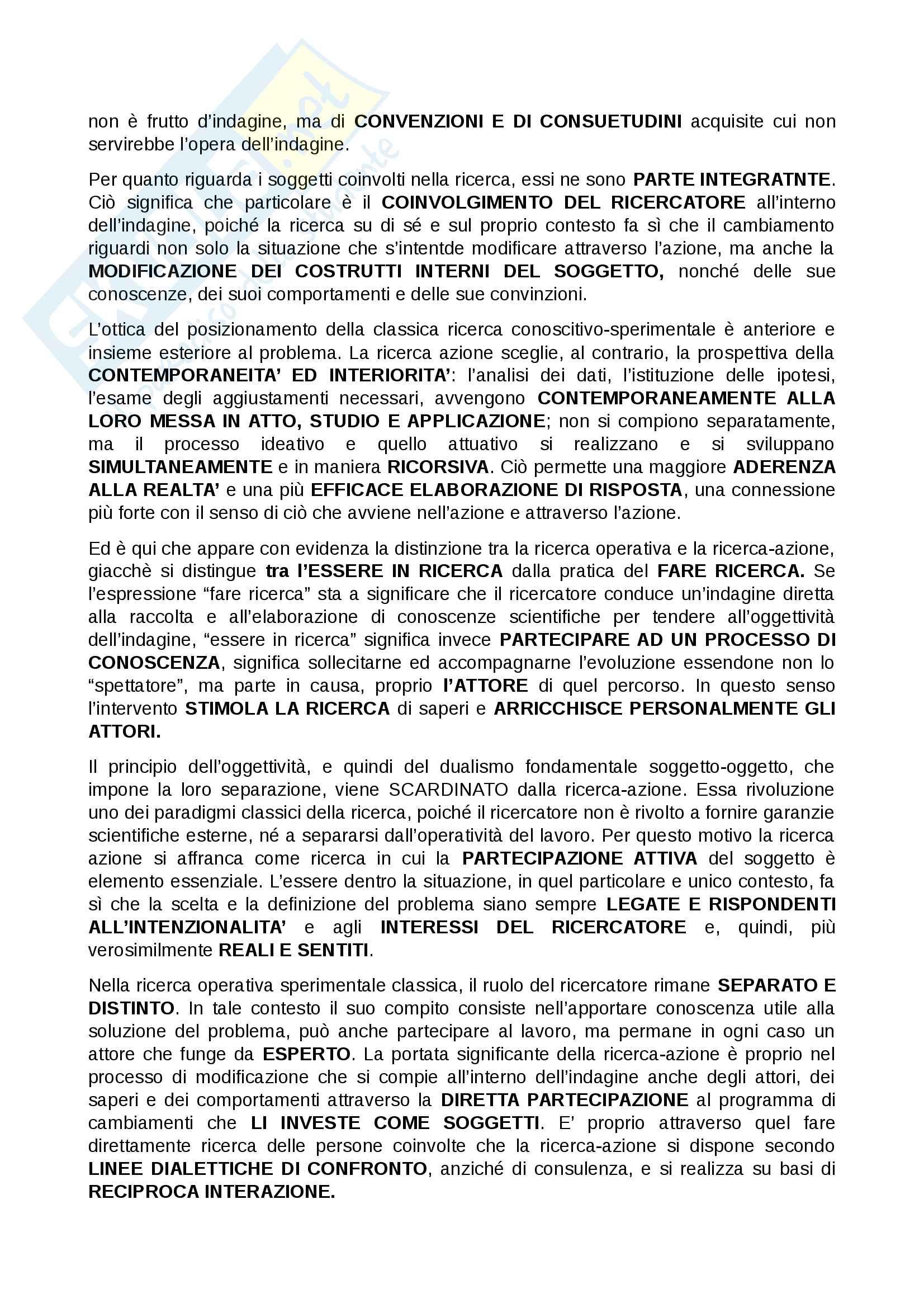 """Riassunto esame Logica Matematica, prof. Giovanna Marani,libro consigliato  """"La ricerca-azione, una prospettiva deweyana"""" di Giovanna Marani Pag. 26"""